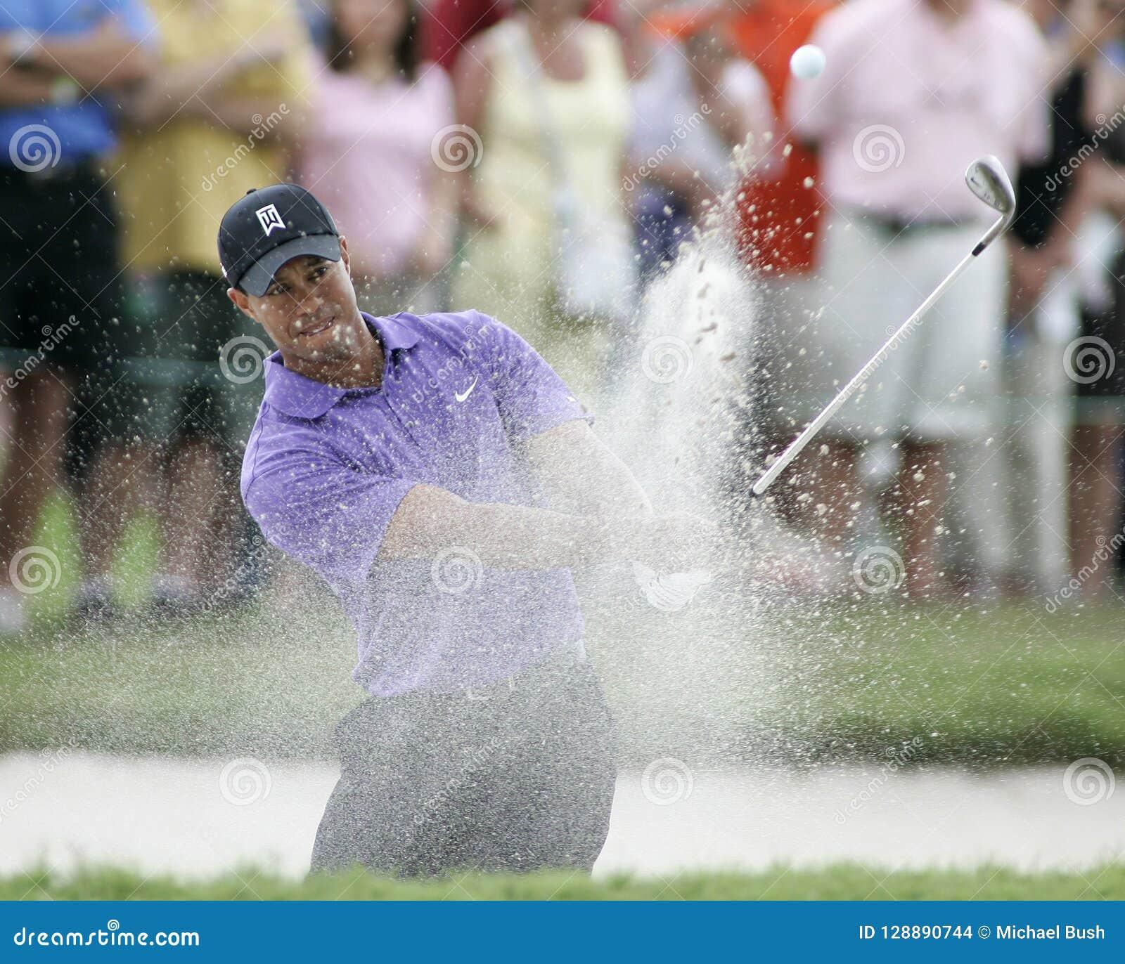 Tiger Woods em Doral em Miami