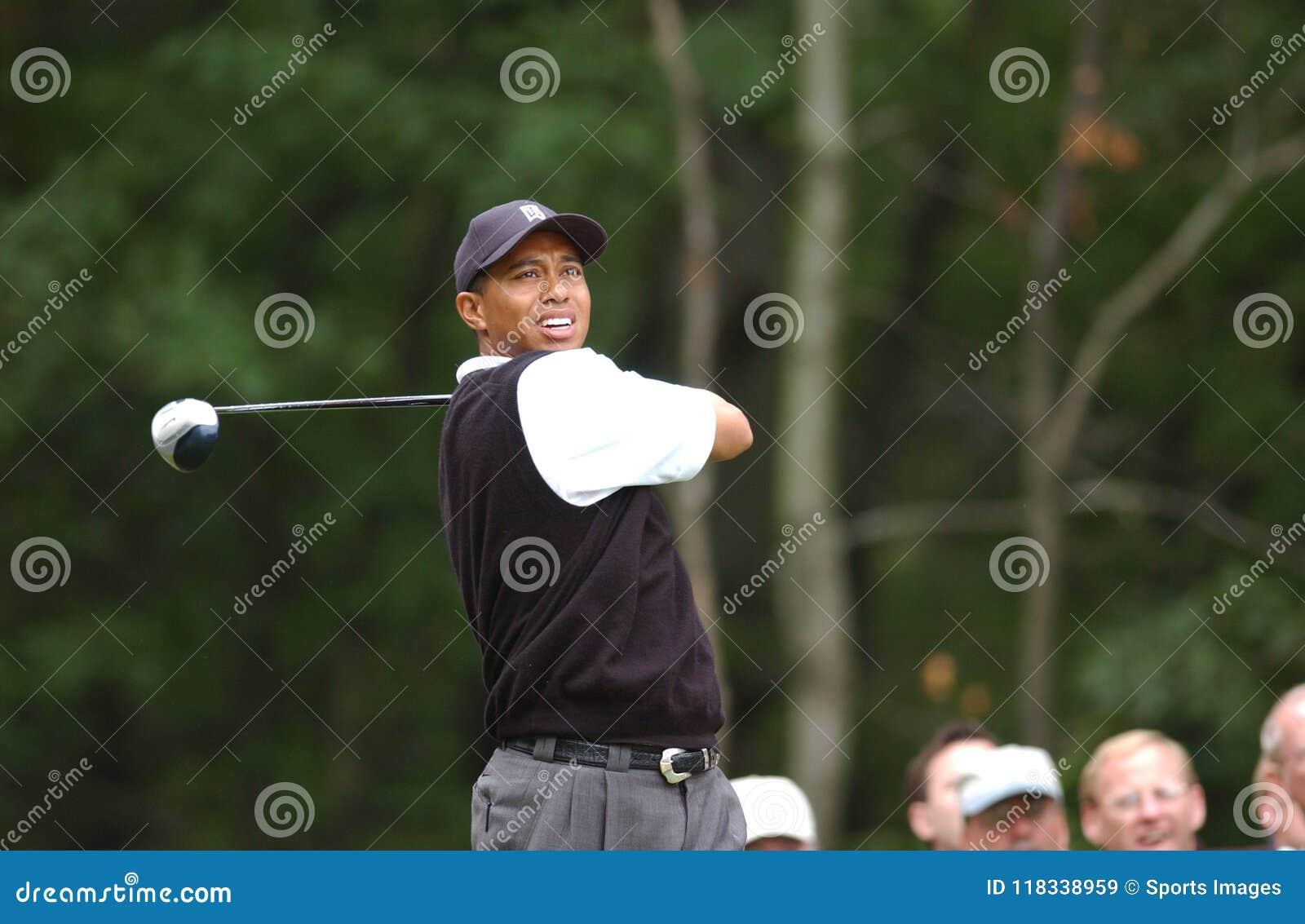 Tiger Woods Fachowy golfista