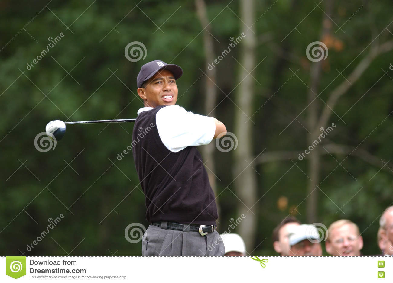 2f3cf22dd Tiger Woods editorial image. Image of swing, golf, woods - 81302730