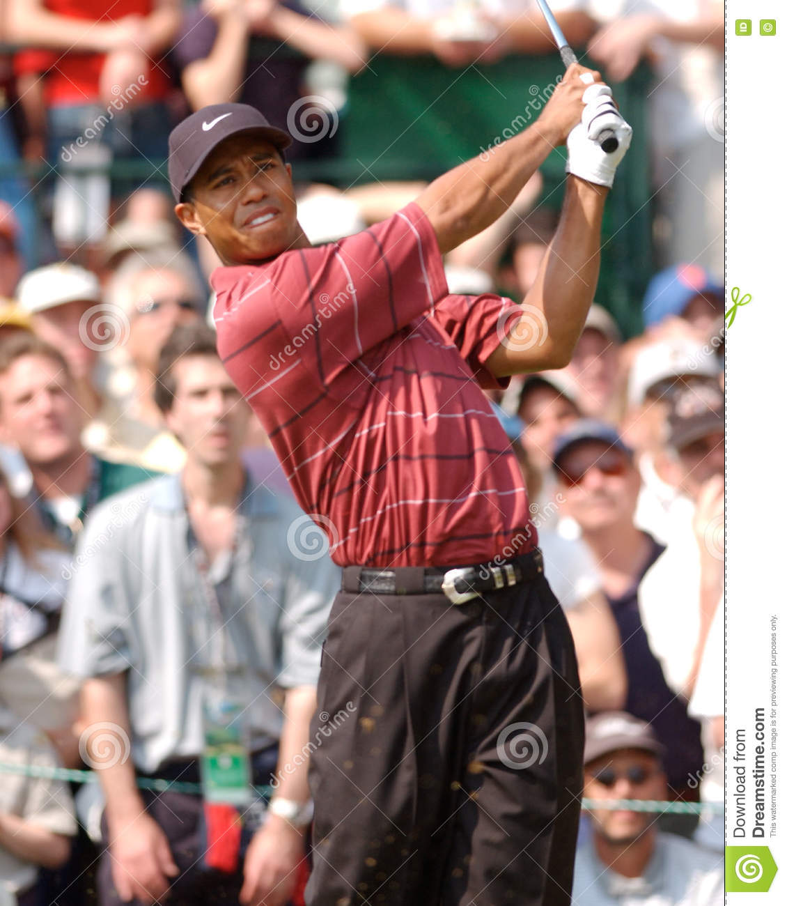 TIGER WOODS-US OPEN 2002 editorial image. Image of 2002 ...