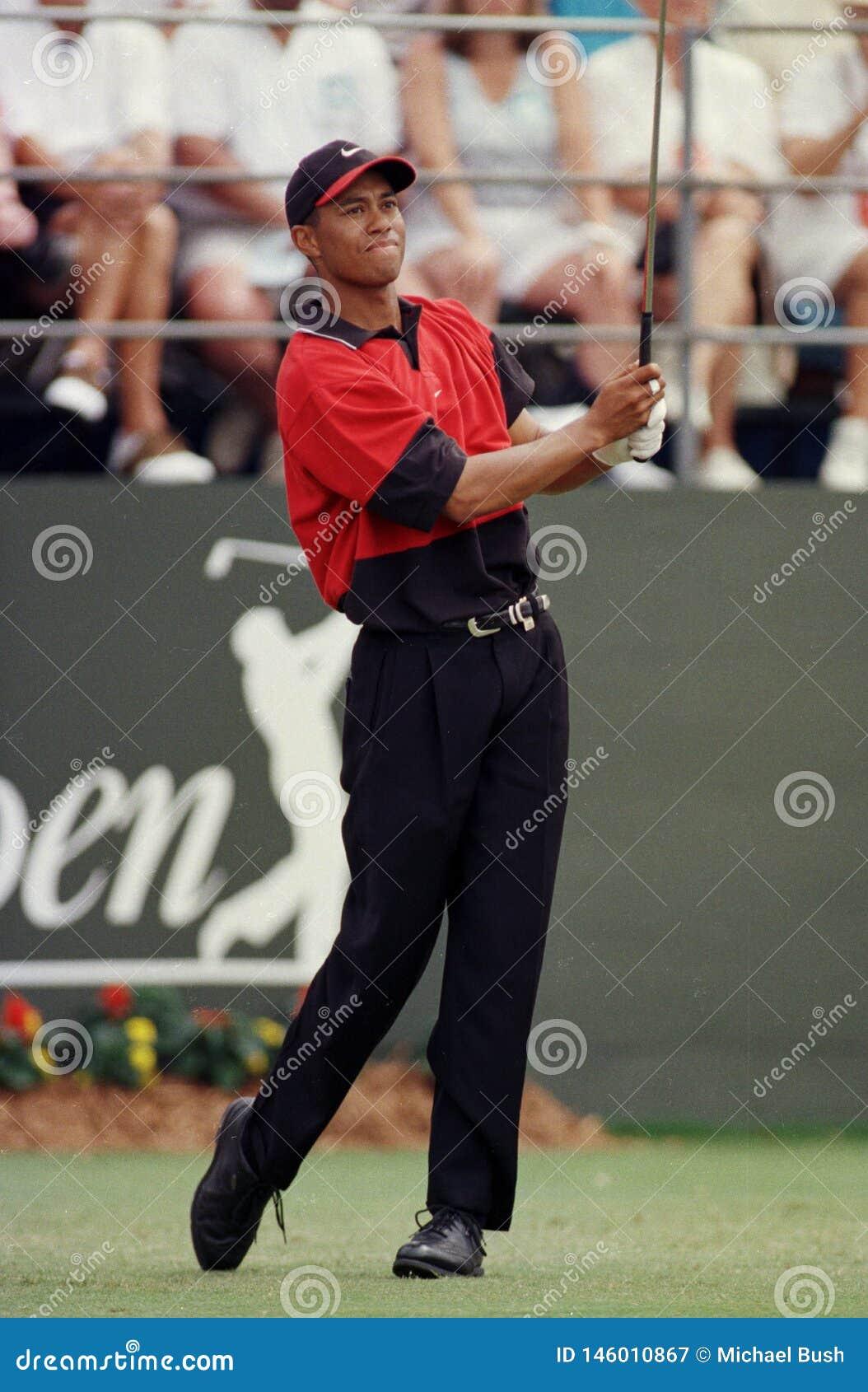 Tiger Woods w akcji przy Doral Country Club