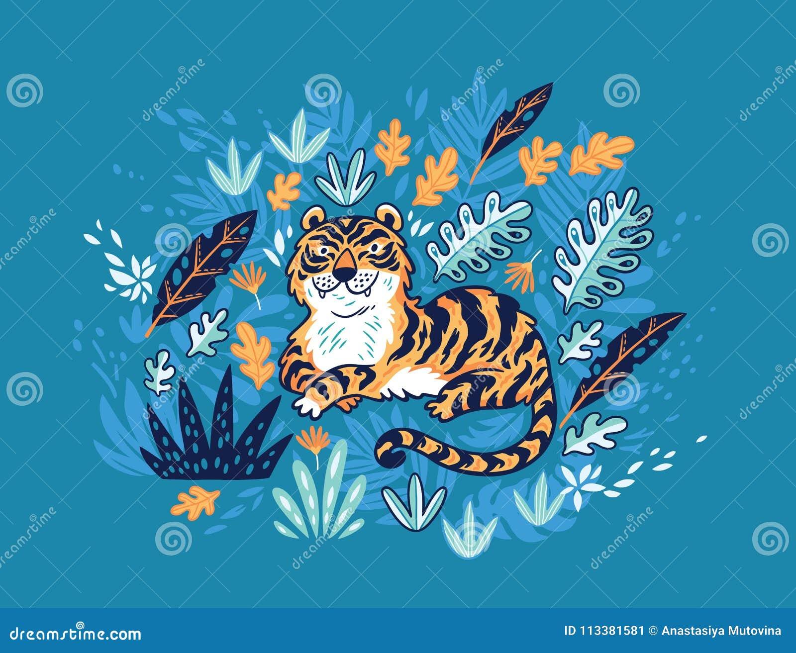 Increíble Hoja Para Colorear Tigre Embellecimiento - Dibujos Para ...
