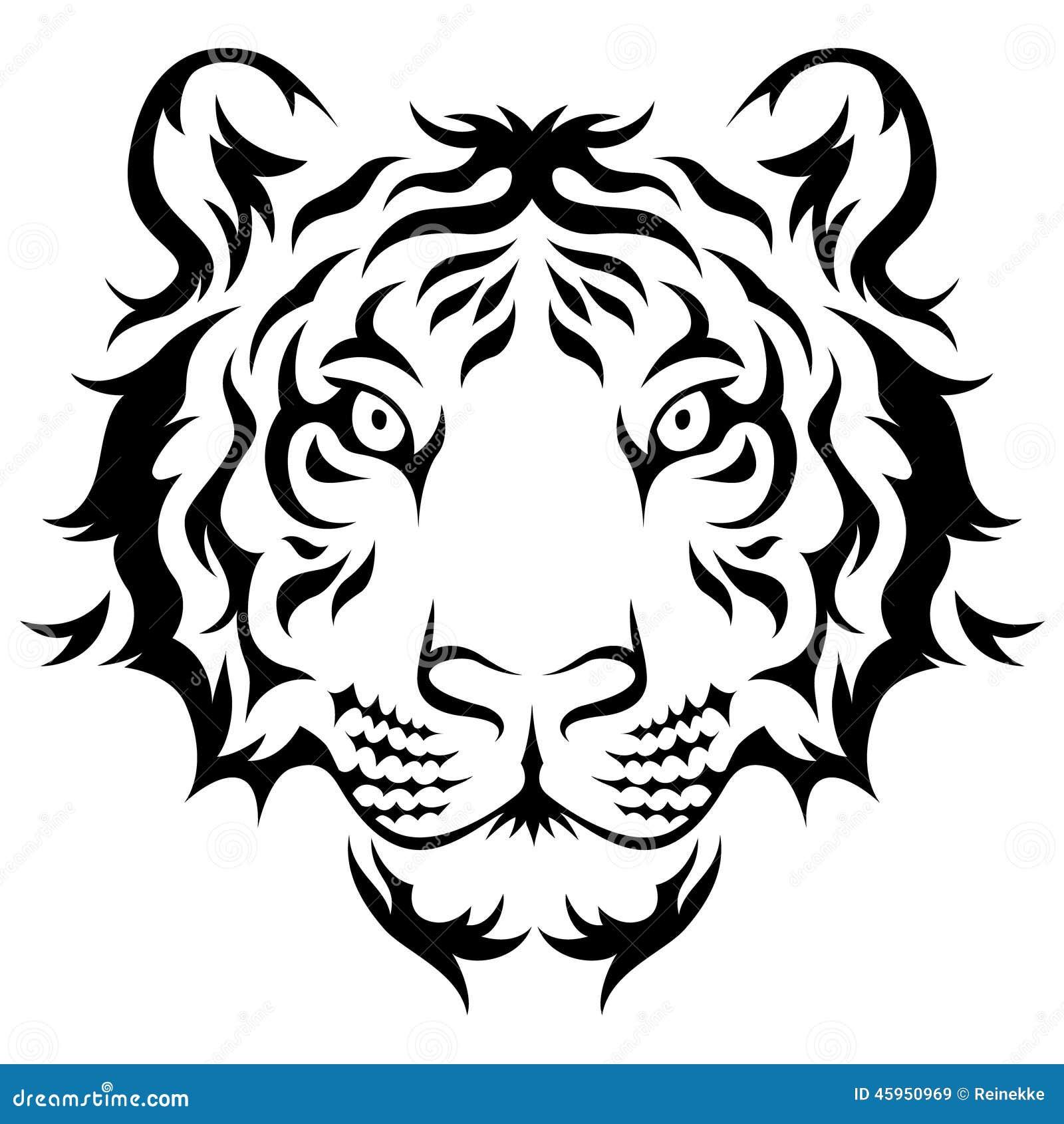 bengal tiger skull