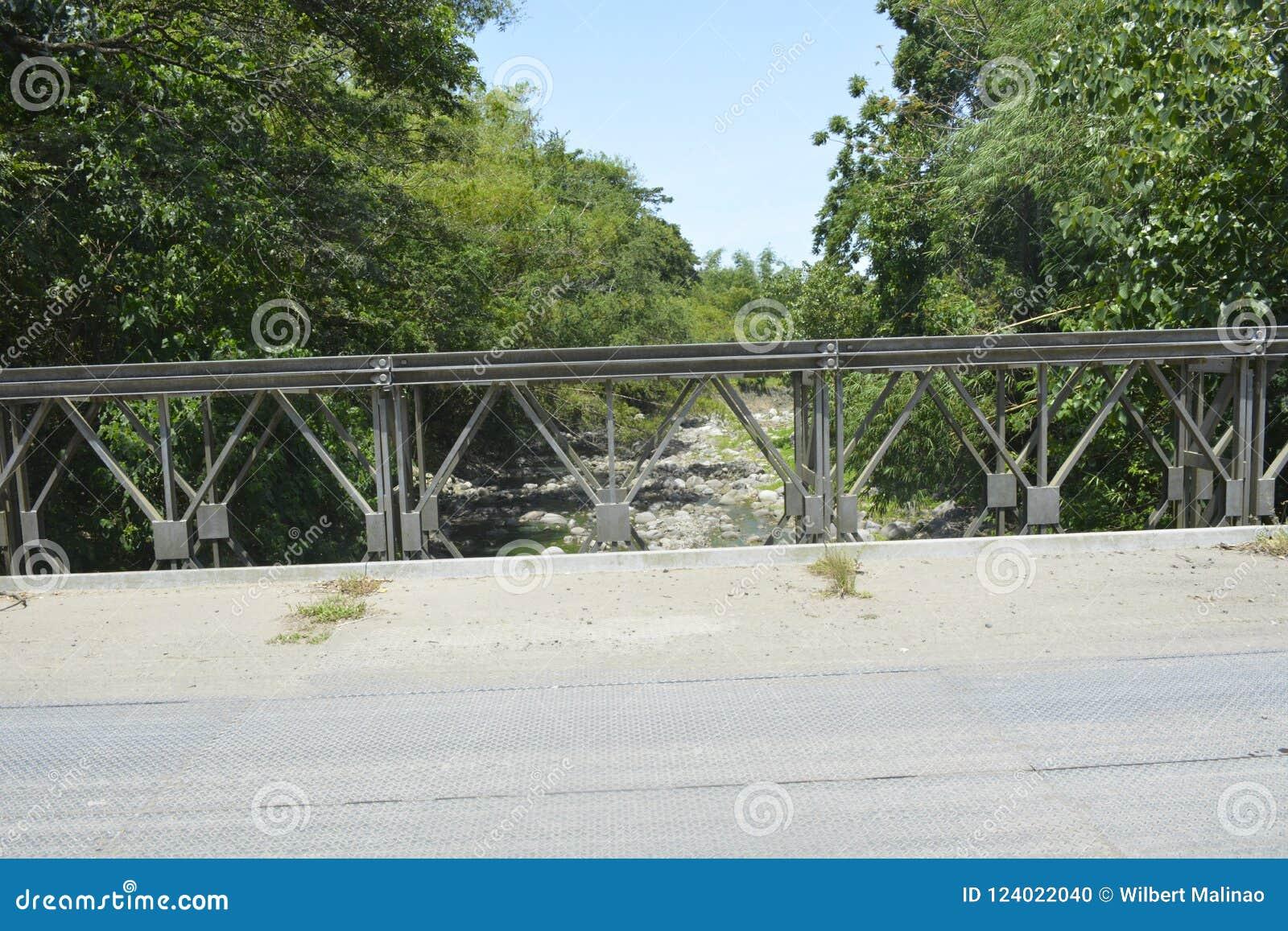 Tiguman most przy barangay Tiguman, Digos miasto, Davao Del Sura, Filipiny