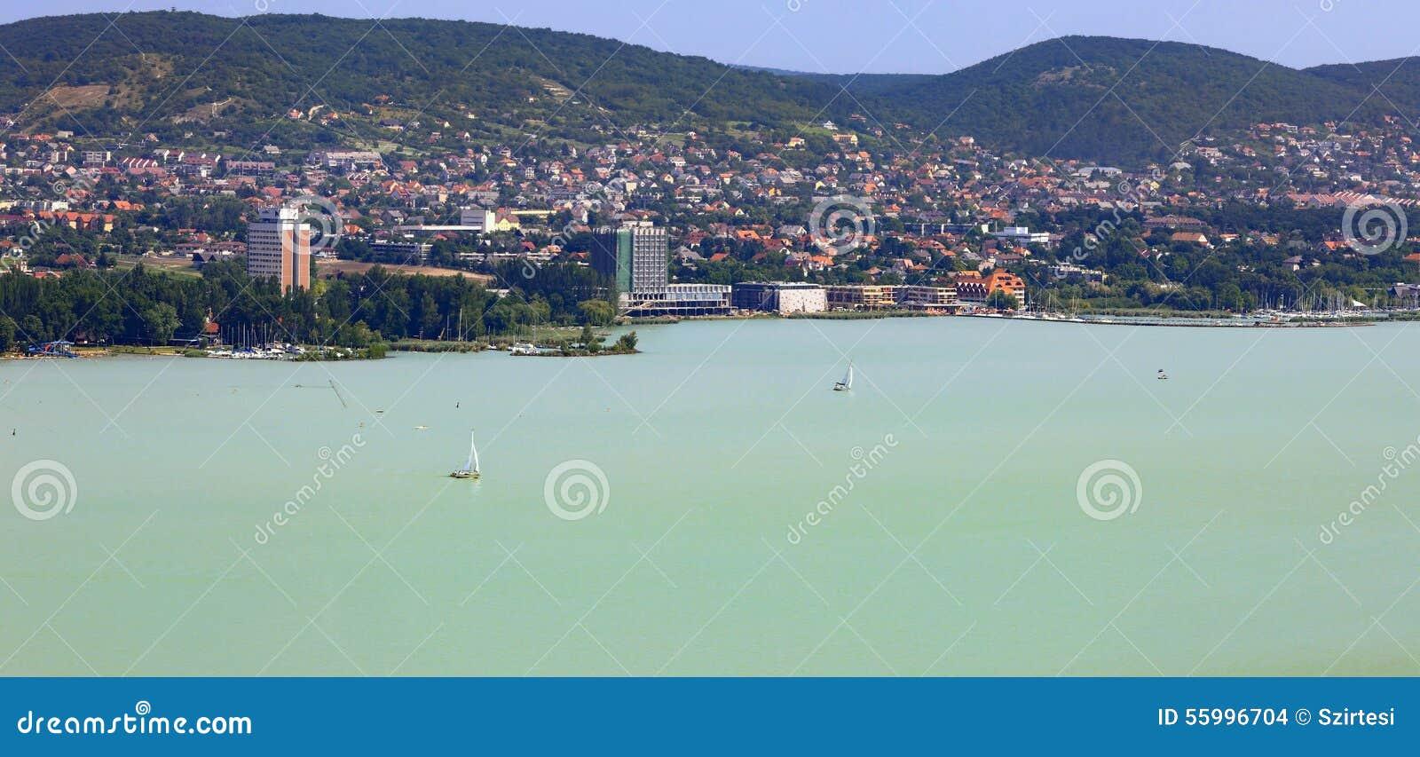 Balatonfured Hungary  city photos : Bay at Balatonfured in Hungary.