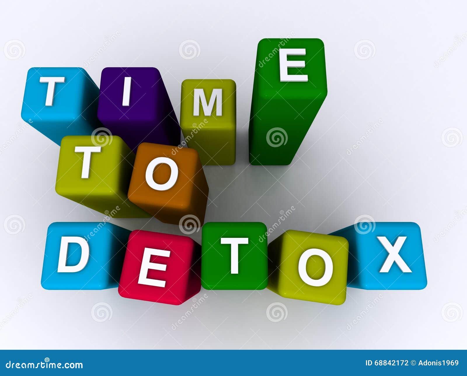 Tijd aan detoxteken