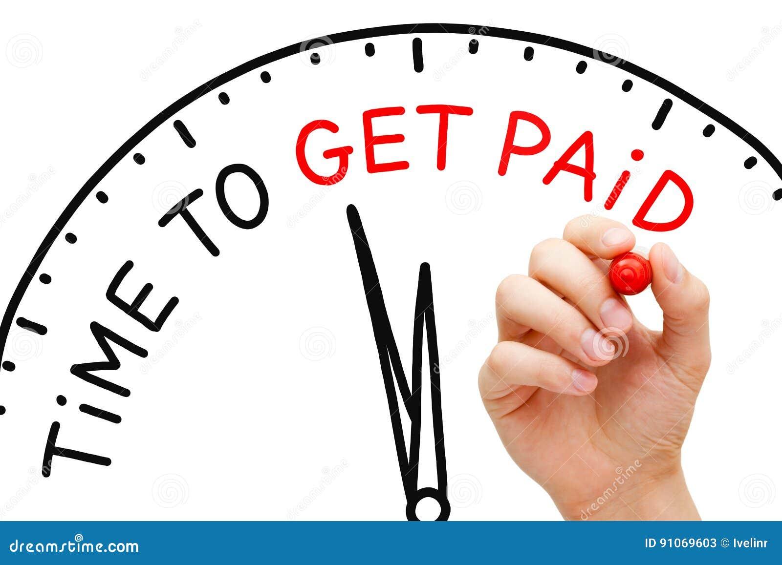 Tijd Betaald te worden
