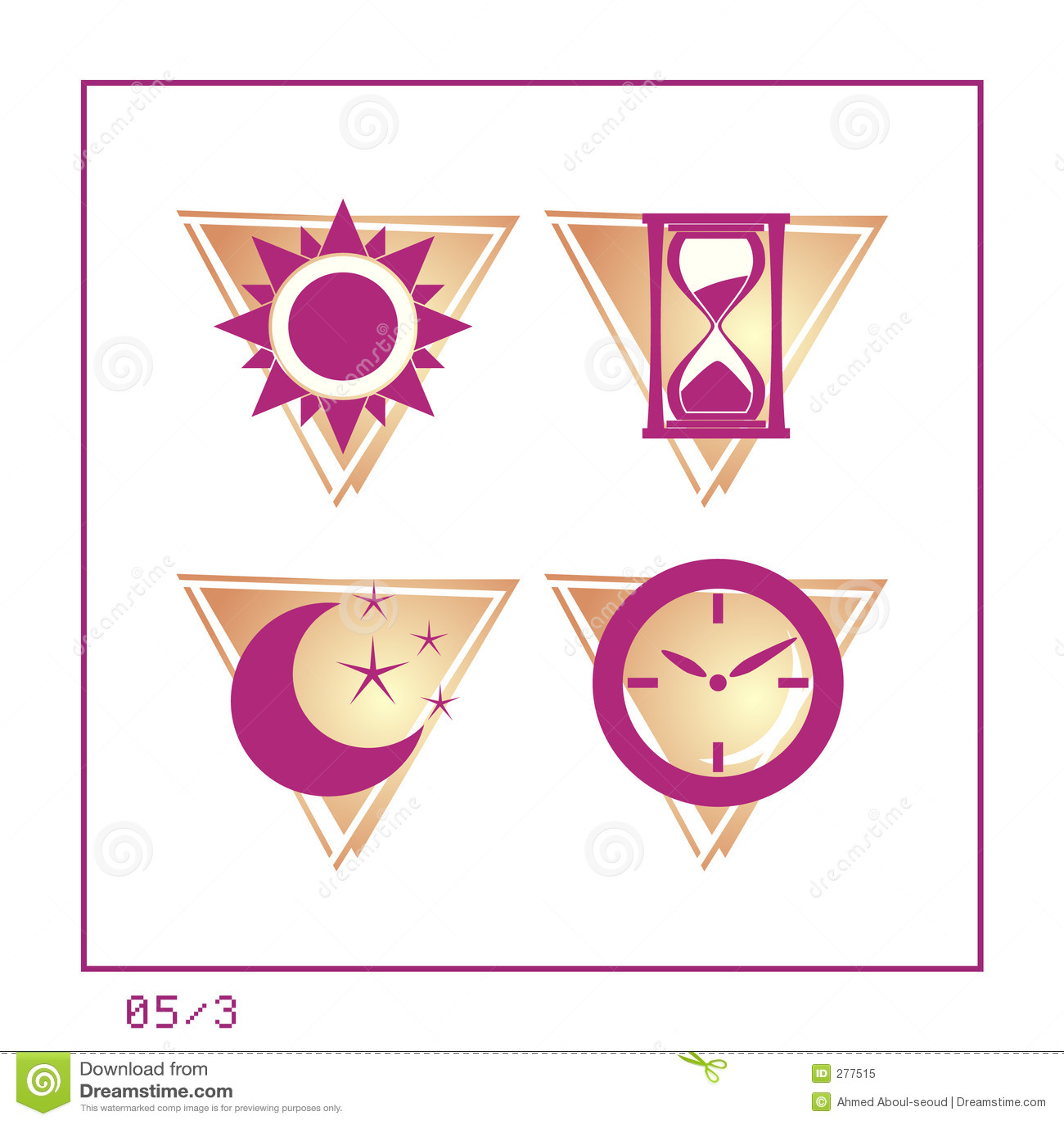 TIJD: Het pictogram plaatste 05 - Versie 3