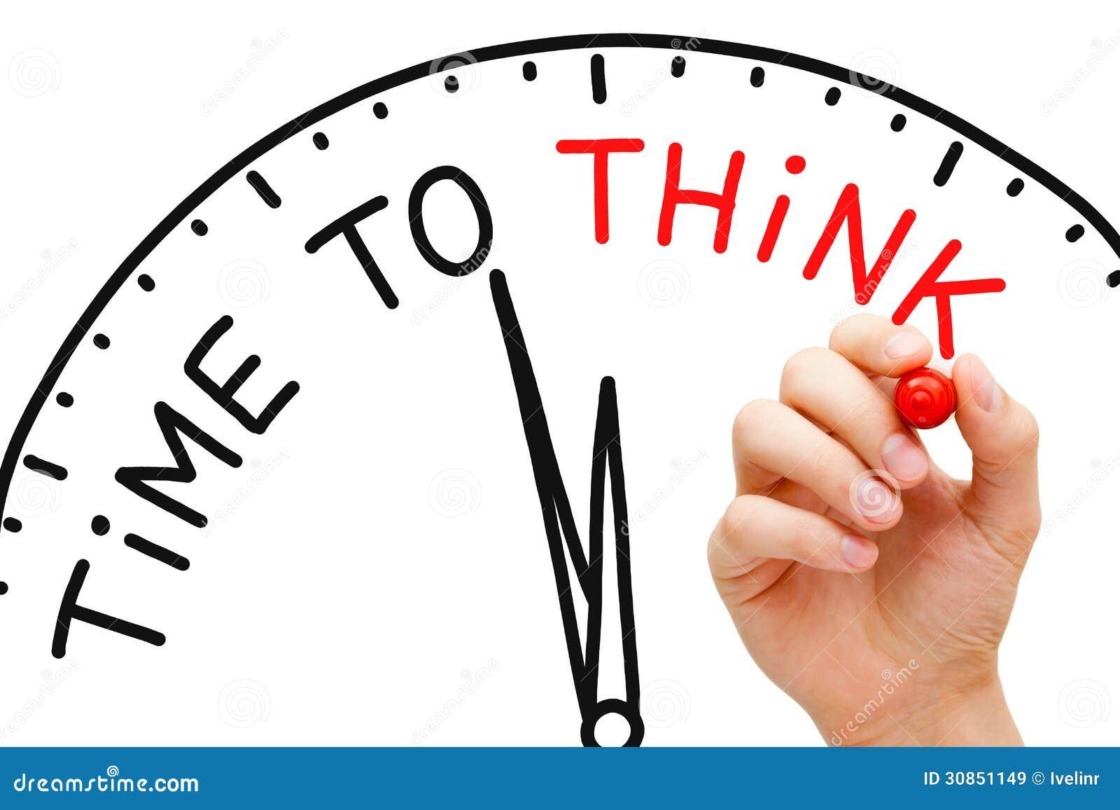 Tijd te denken