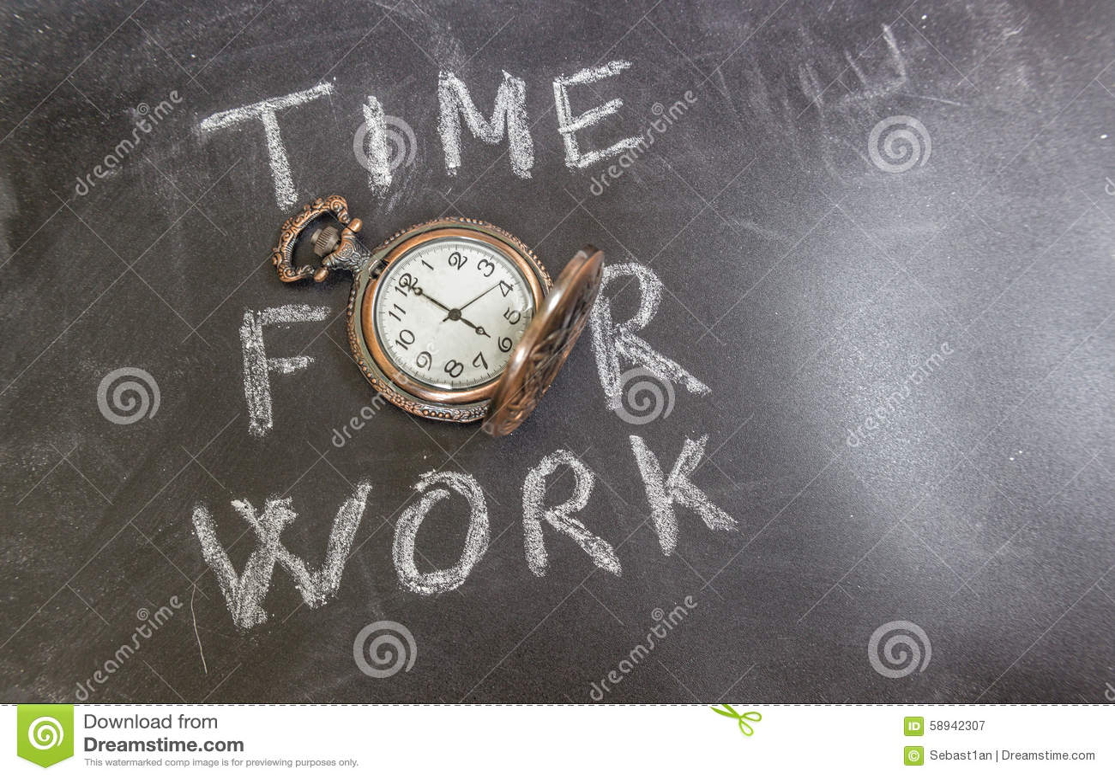 Tijd voor het werk