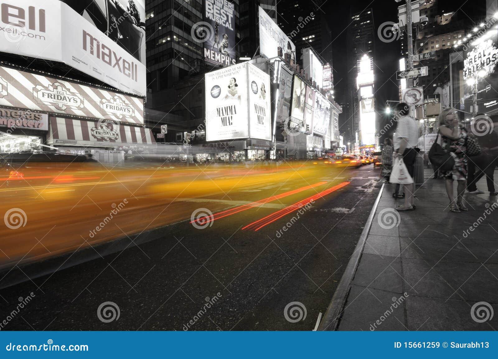 Tijden Sqaure in New York