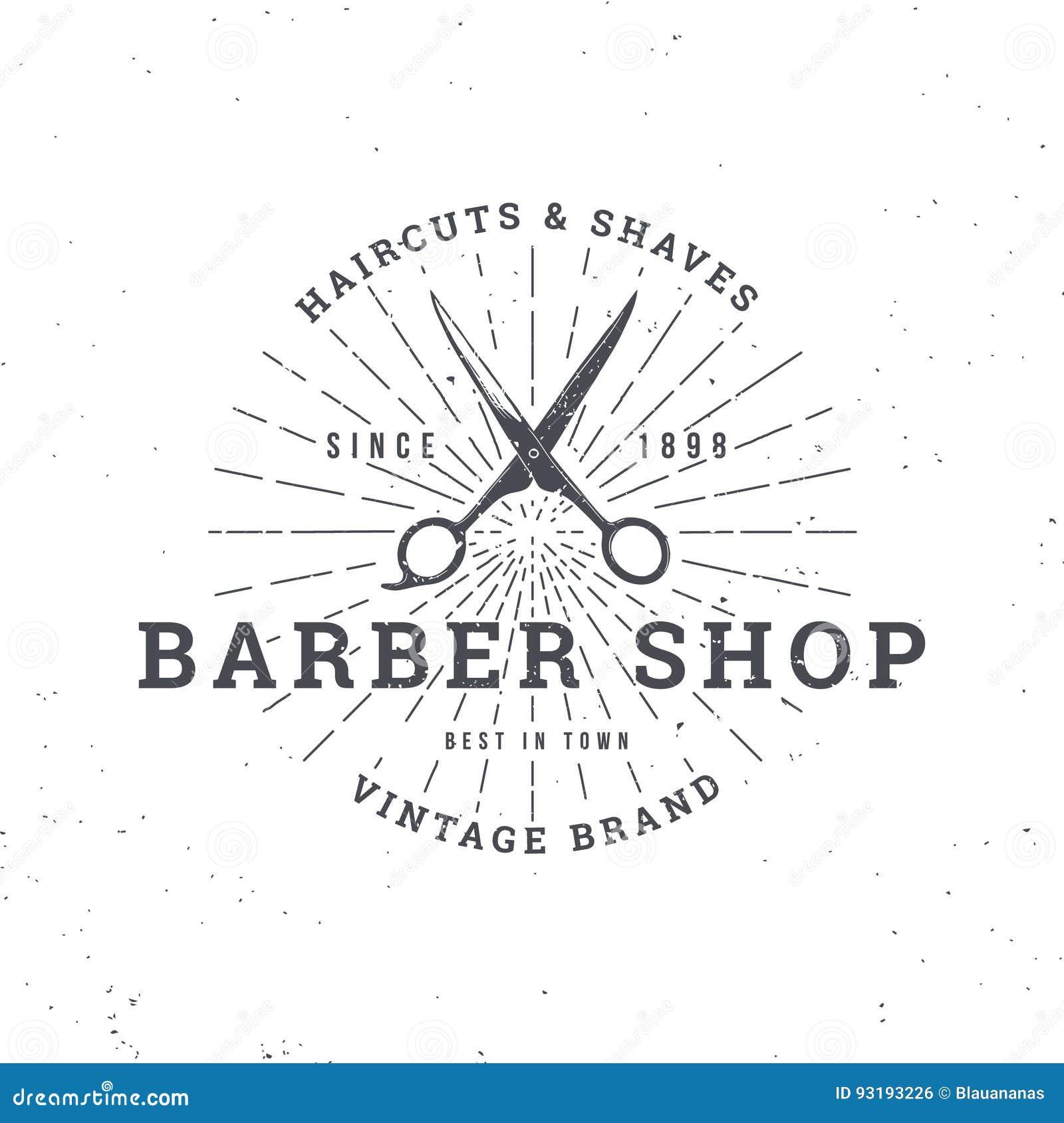 Tijeras de la peluquería de caballeros