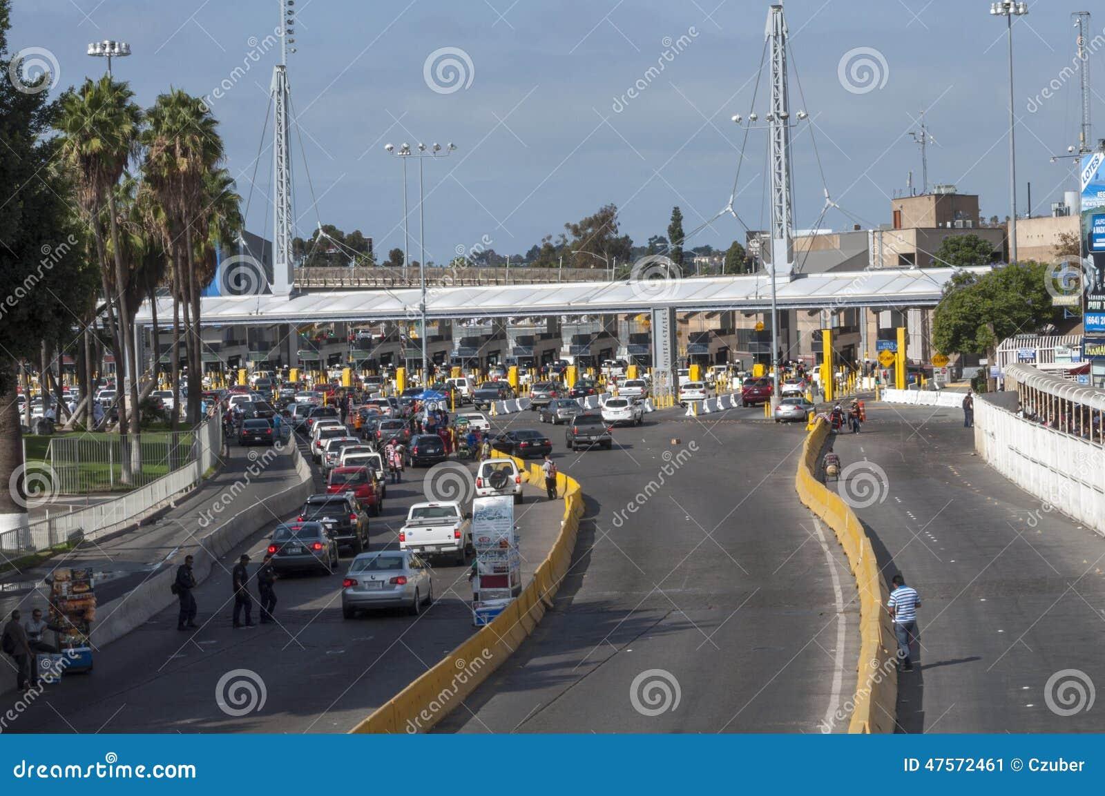 Tijuana gränsövergång