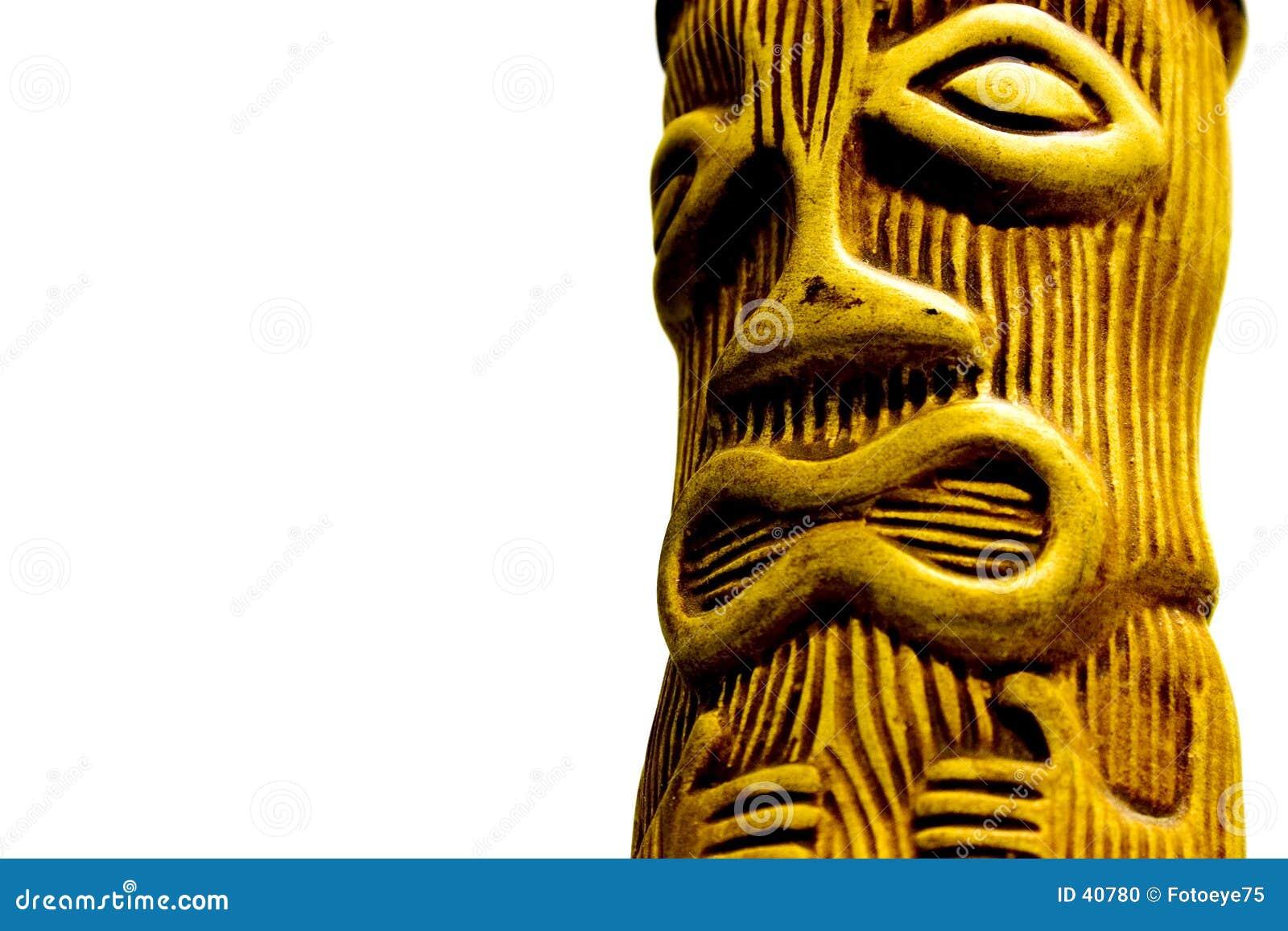 Download Tiki-Hombre foto de archivo. Imagen de religión, hombre - 40780