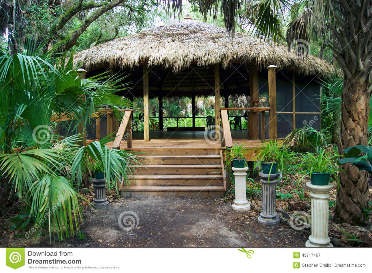 Tiki hut building plans 28 images thatching for diy for How to build your own house in florida