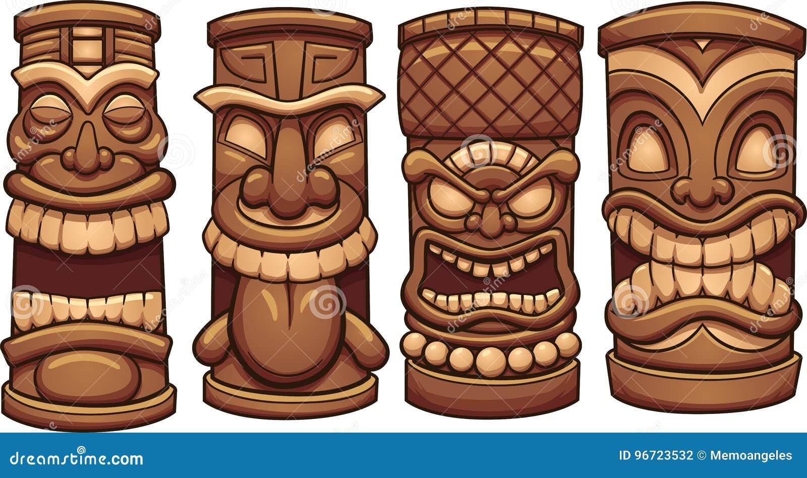 e651e02a2073 Tiki Stock Illustrations – 3