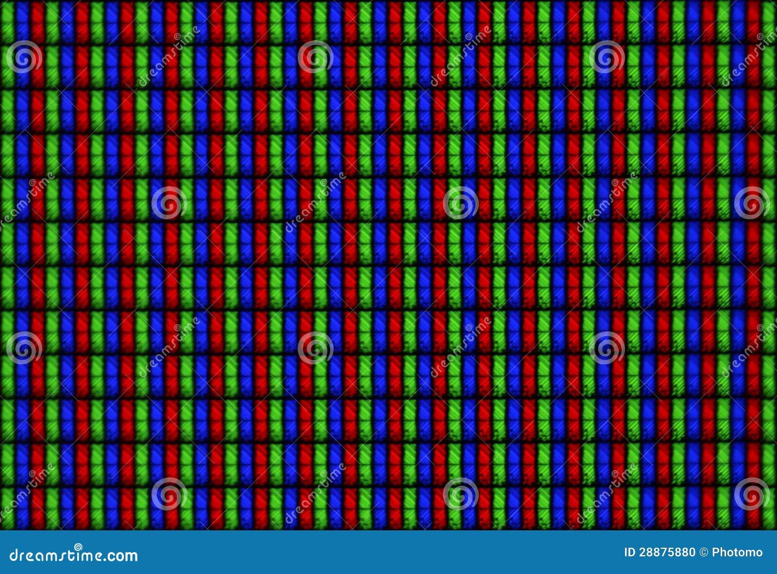 Tilable Texture Display LCD RGB - Macro Stock Photo ...