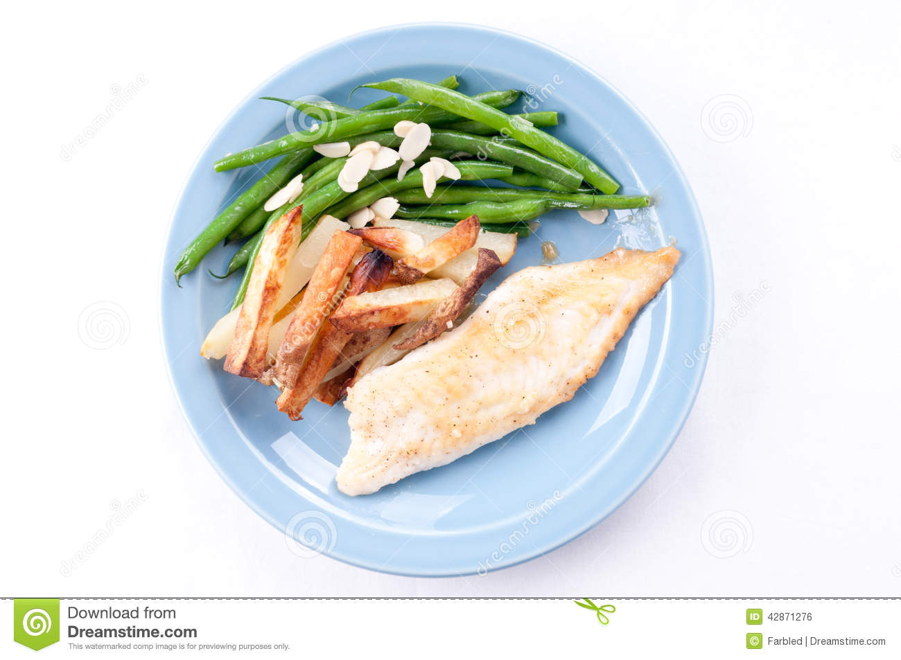 Tilapia fish fillet with vegetables stock photo image for Fish and veggie diet