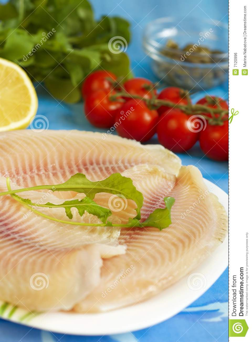 Tilapia fish ready to cook royalty free stock image for How to make tilapia fish