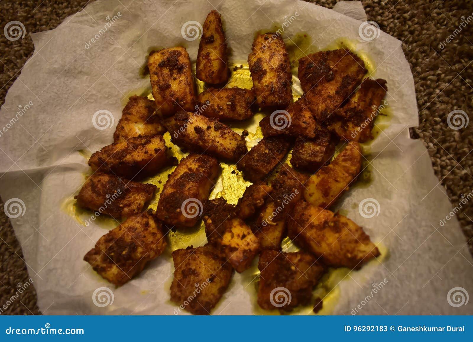 Tilapia Fish Recipe Stock Image Image Of Indian Style 96292183