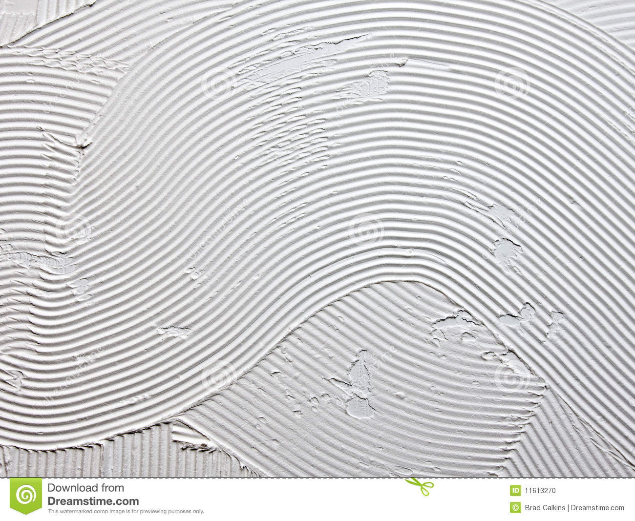 Tile Adhesive Stock Photo Image Of Backing Pattern
