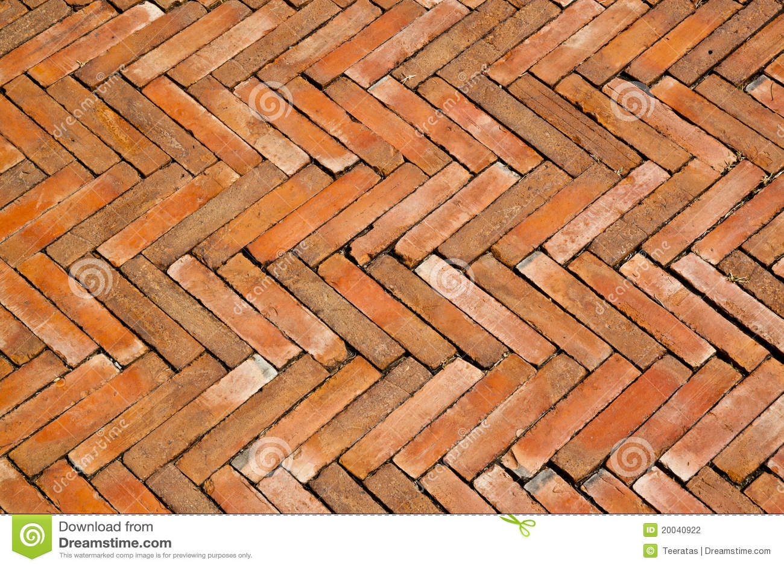 Z Brick Flooring : Tile bricks floor stock photography image