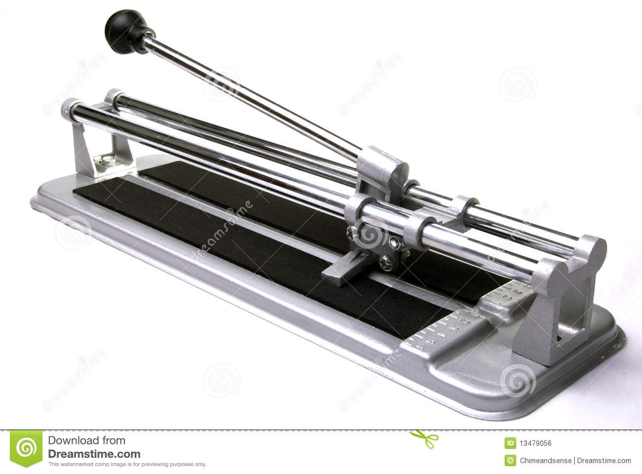 Ceramic Tile Cutter ~ Tile cutter royalty free stock image