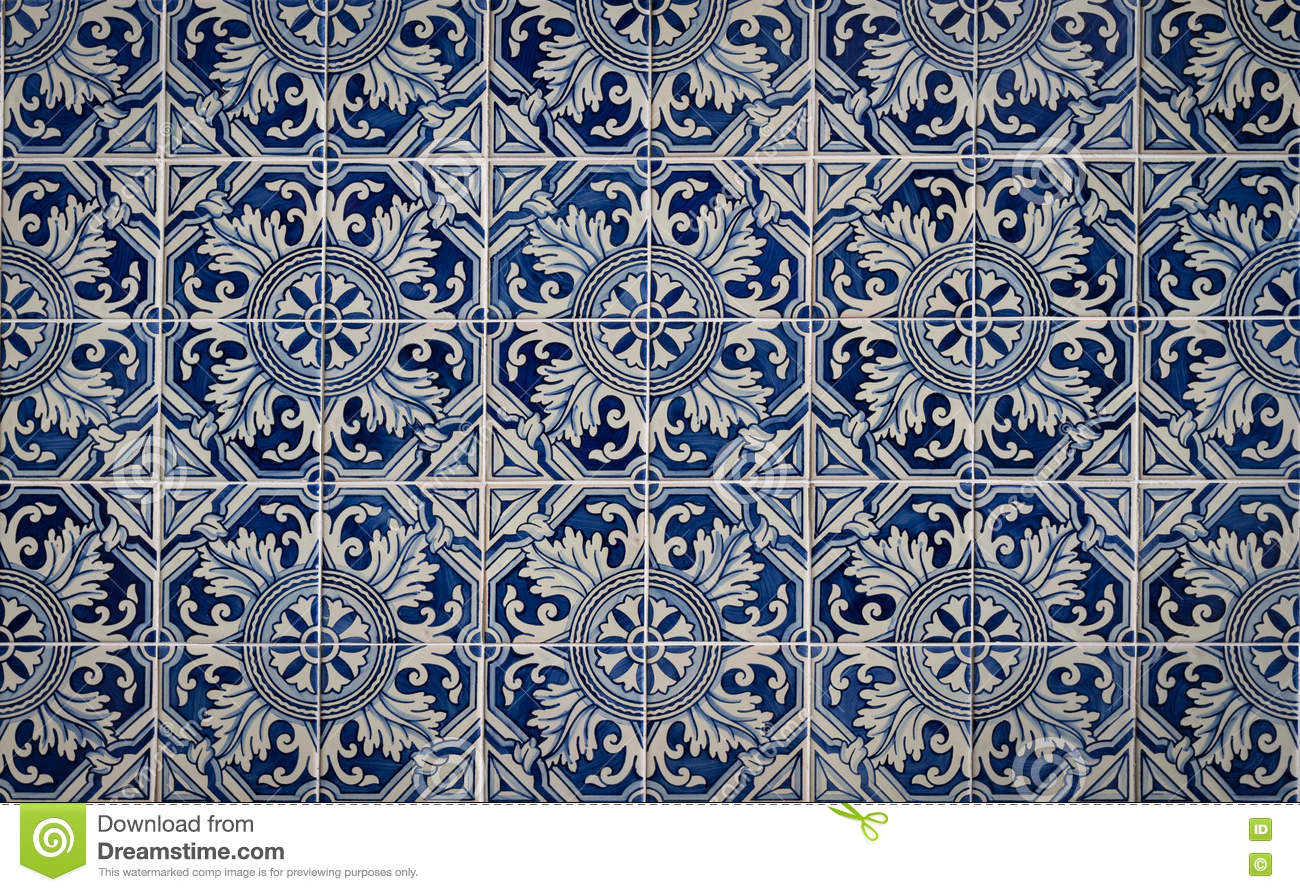 Tile decorated stock image. image of texture lisbon 71718739