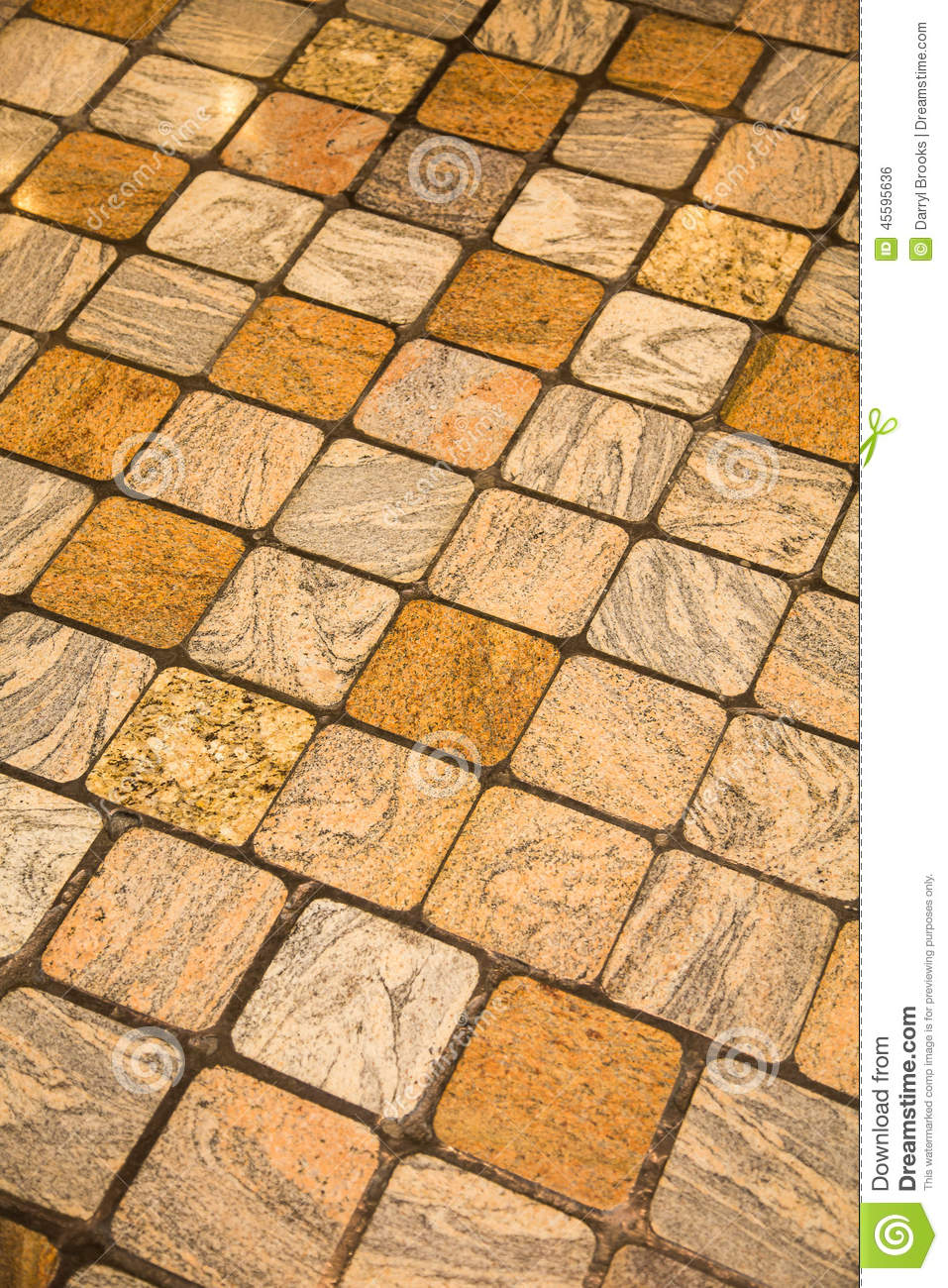Tile Floor On Diagonal For Background Stock Photo Image Of