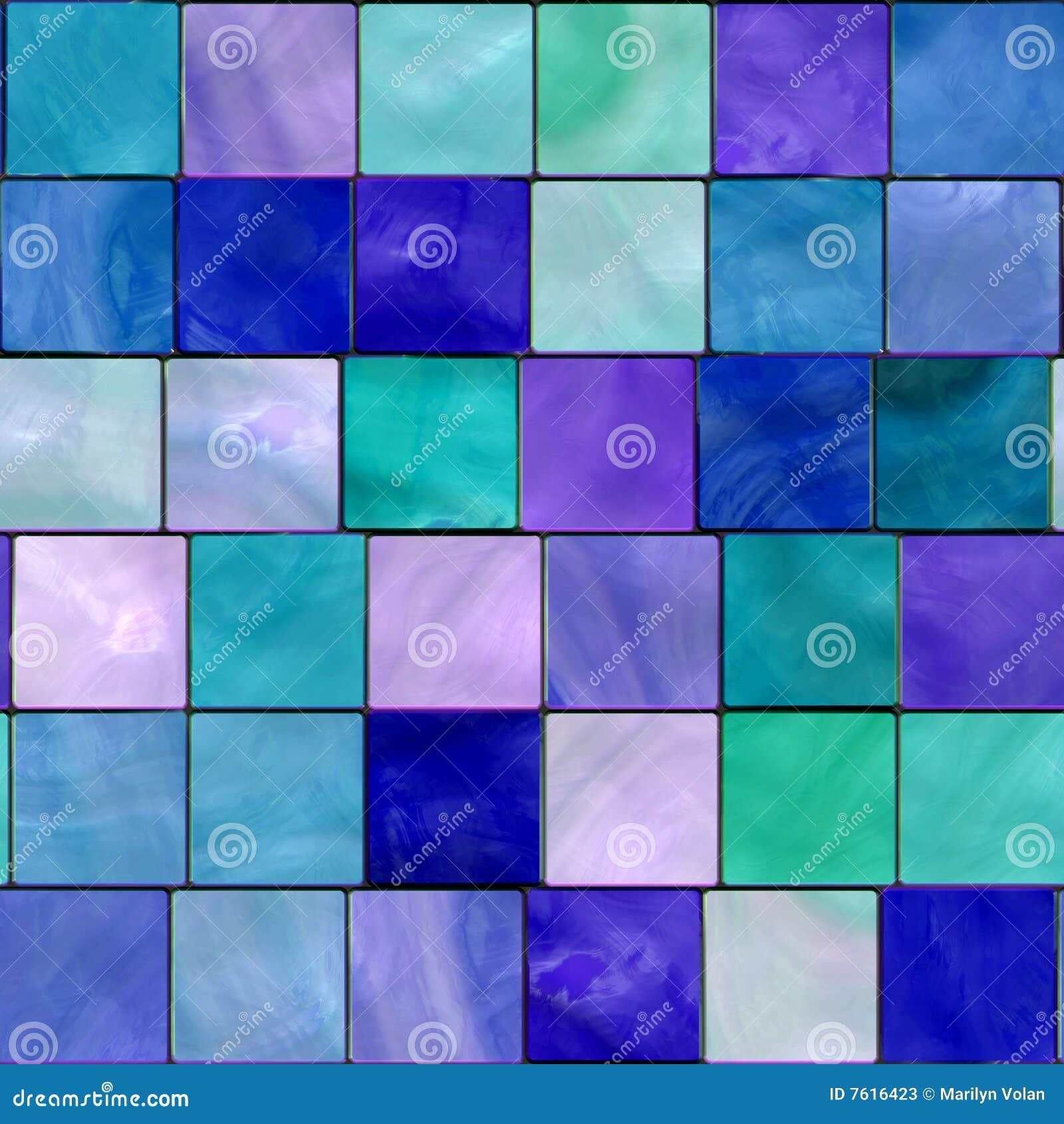 Tile Mosaic Background Stock Photos Image 7616423