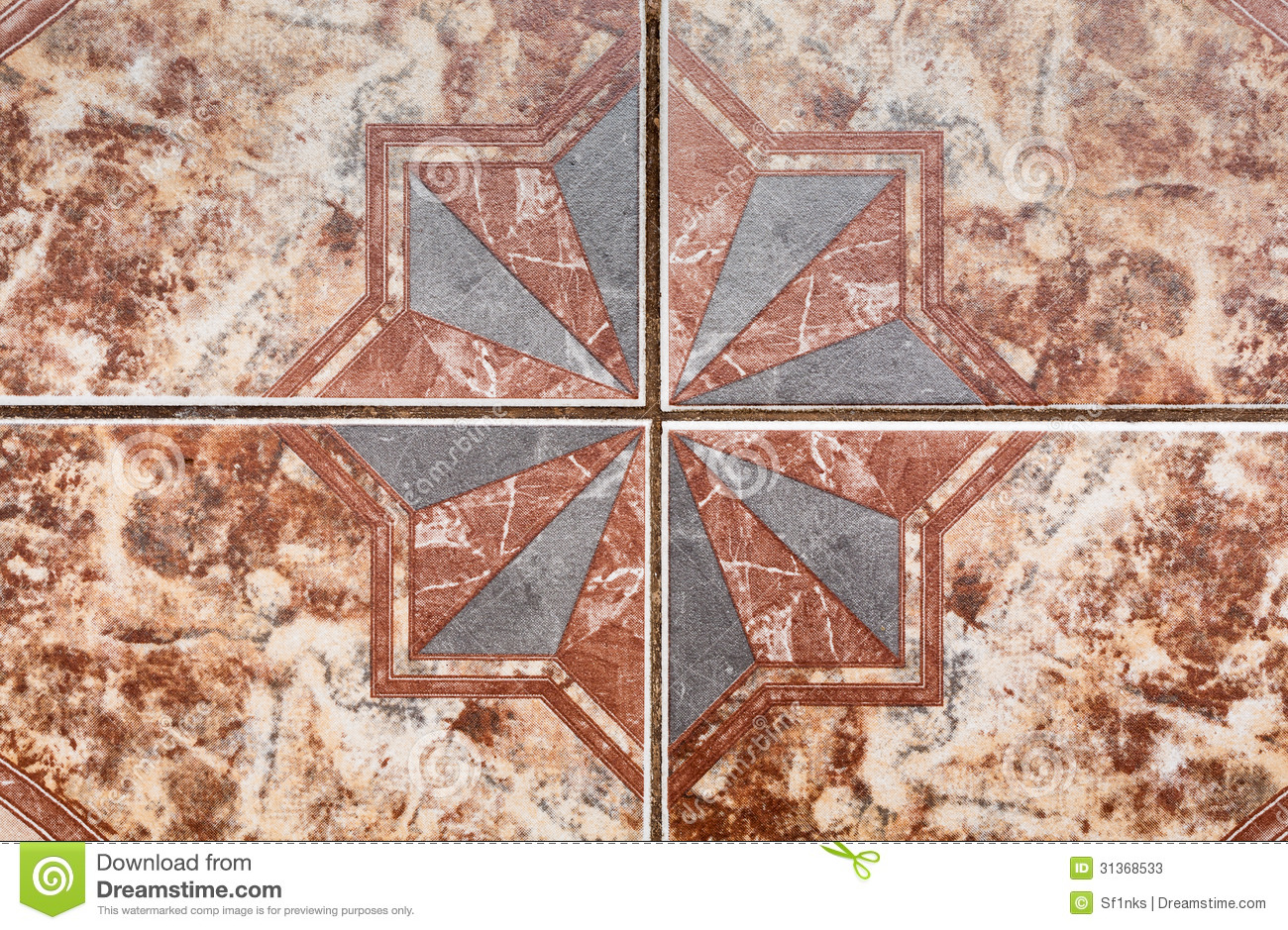 Tile pattern of ancient ceramic tiles stock image image 31368533 tile pattern of ancient ceramic tiles dailygadgetfo Image collections