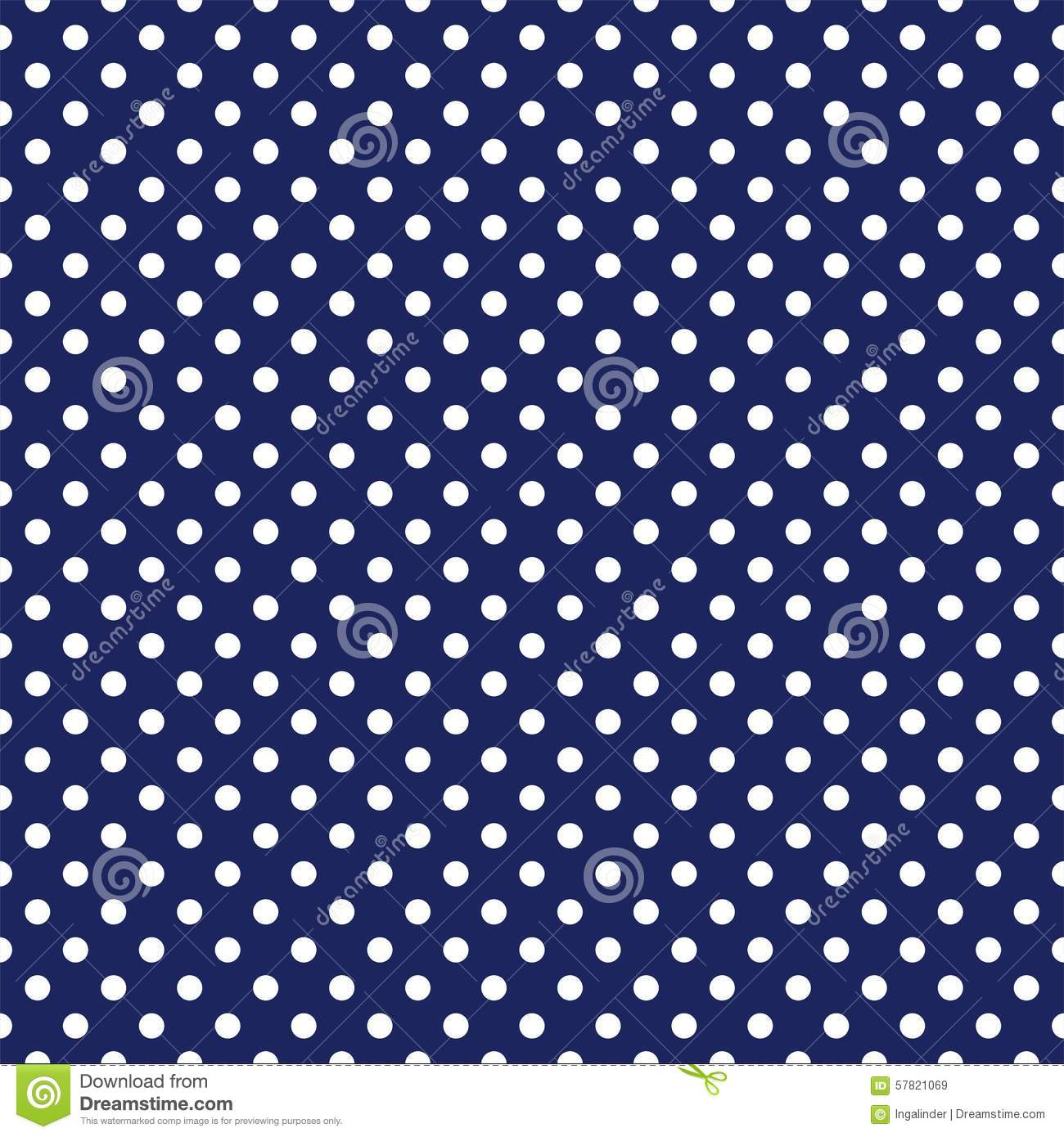 Vector Navy And Pastels Spring Flowers Seamless Repeat