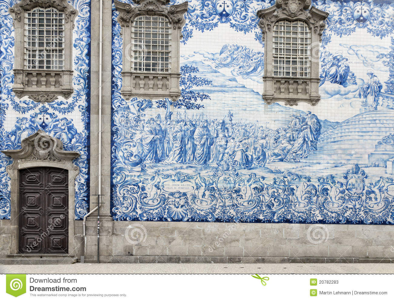 Tile Work In Porto Portugal Stock Photos Image 20782283