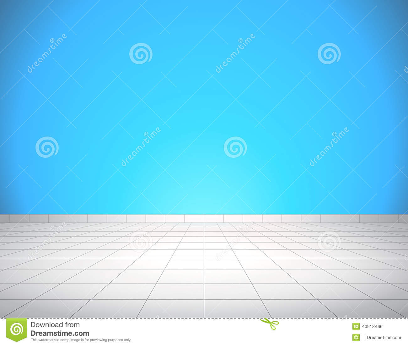 Tiled floor and wall stock vector. Illustration of cold - 40913466