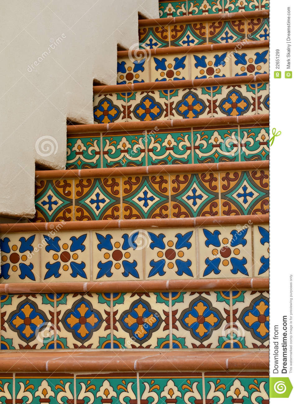 Tiled Staircase