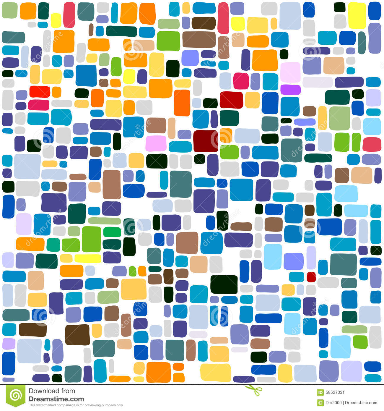 Tiles abstract background colorful mosaic