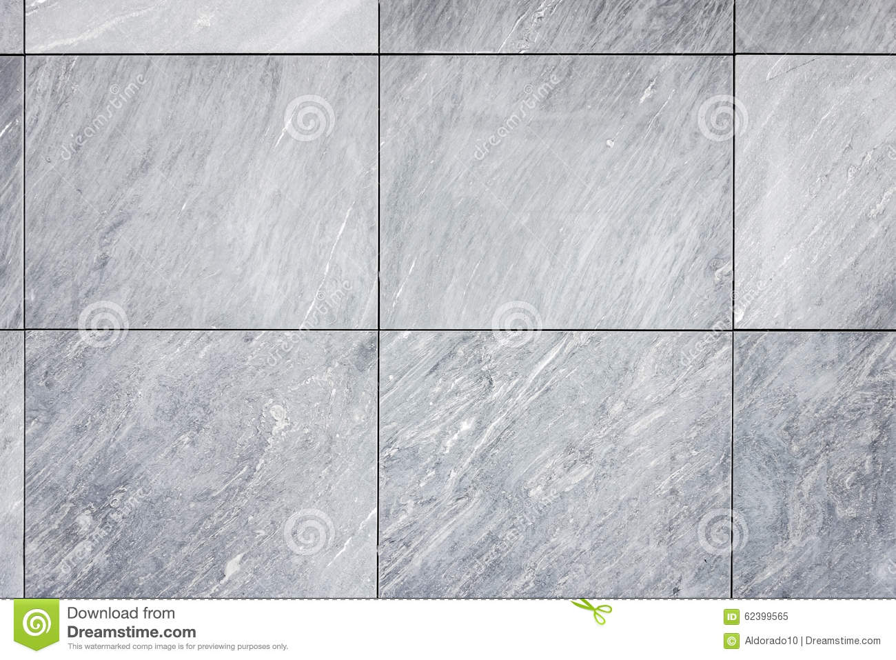 Tiles Grey Natural Stone Wall Floor Facade Stock Image