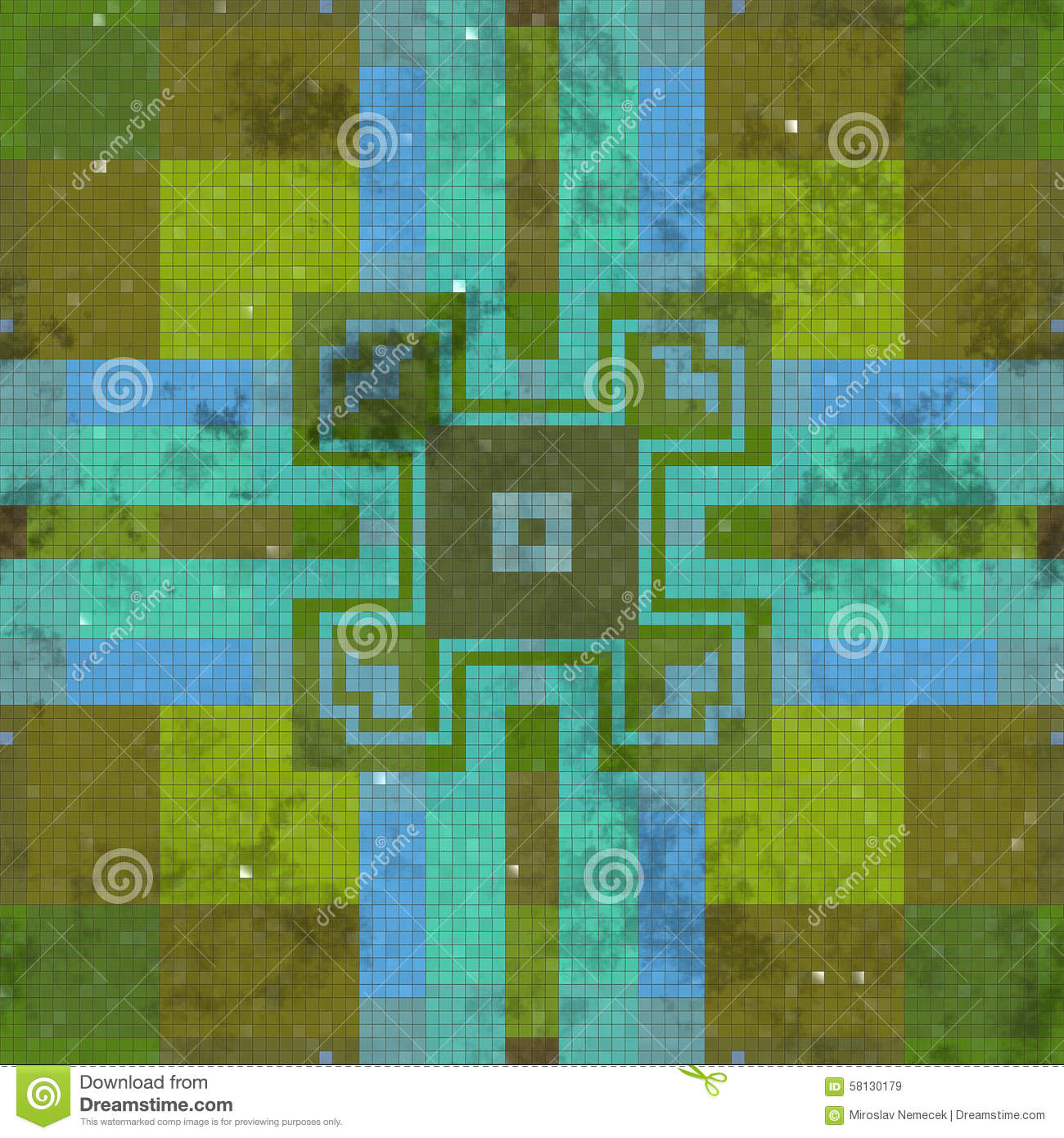 generated seamless tile background - photo #24