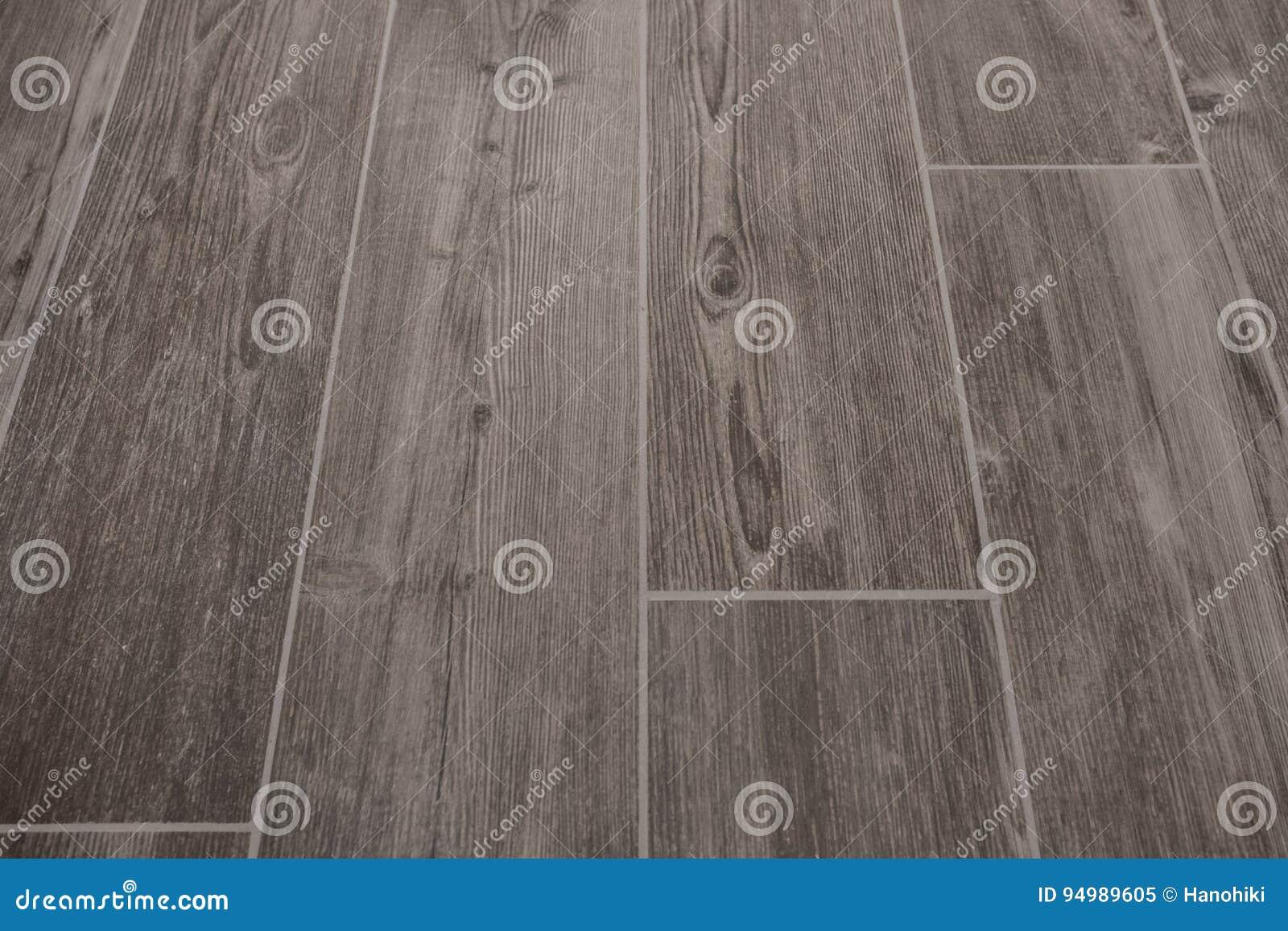 Tiles With Wooden Texture Tiled Floor Wood Design Stock Image