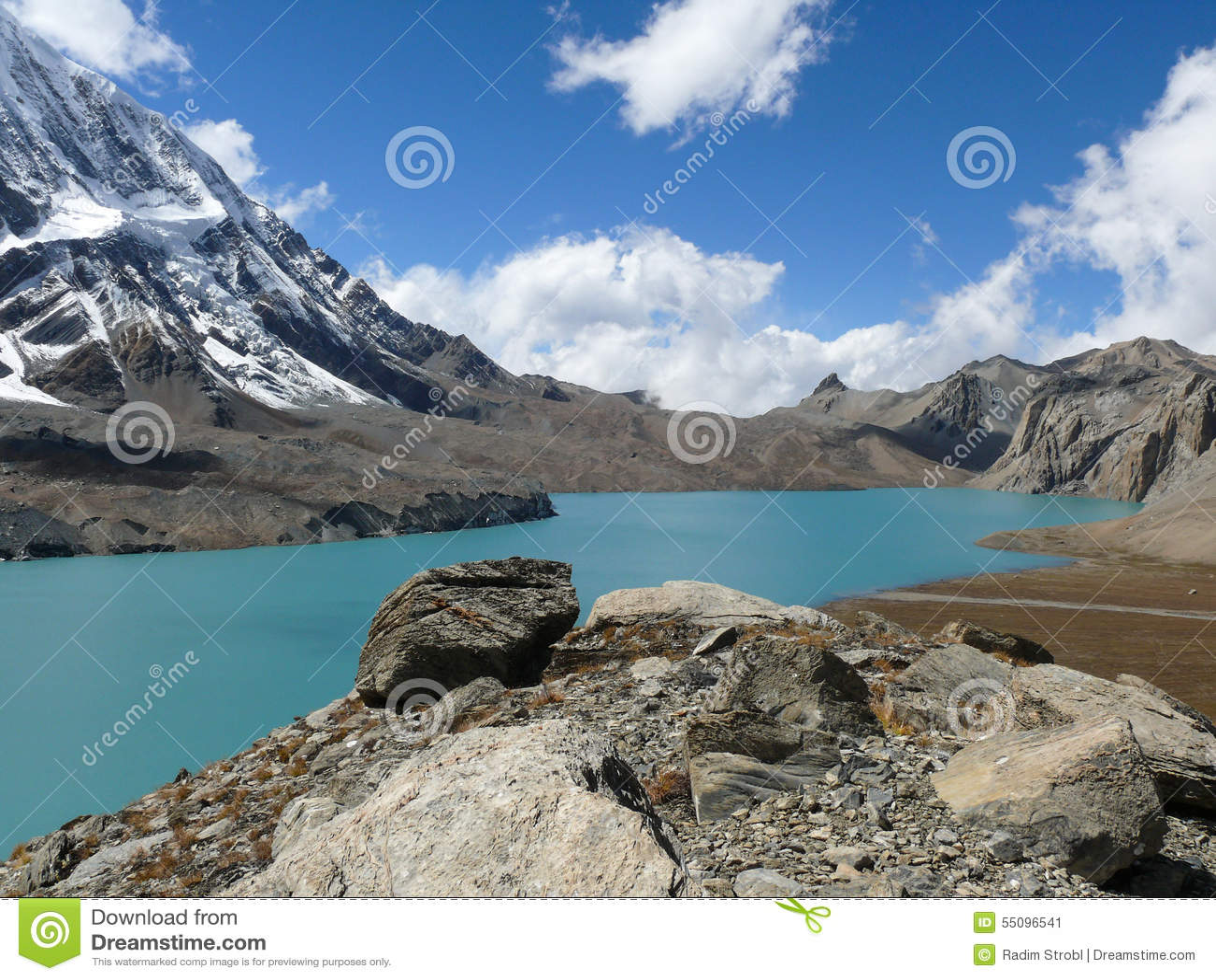 Tilicho sjö och Tilicho maximum, Nepal