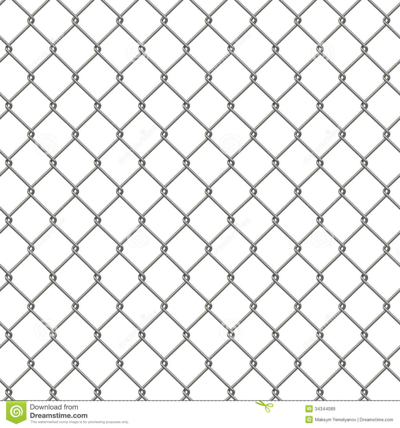 Tiling Texture Of Barbed Wire Fence Royalty Free Stock