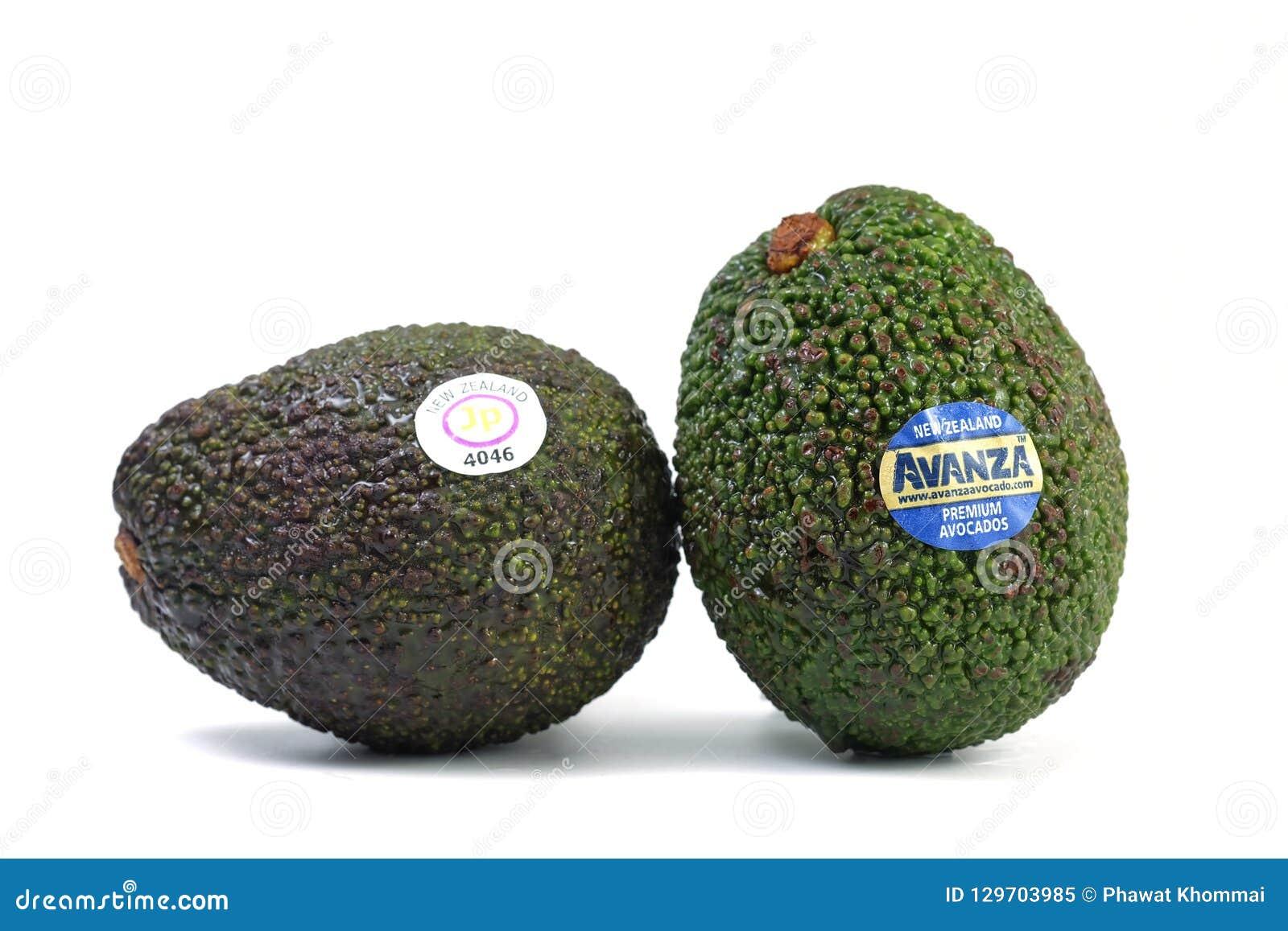Till salu nyazeeländsk import för avokado