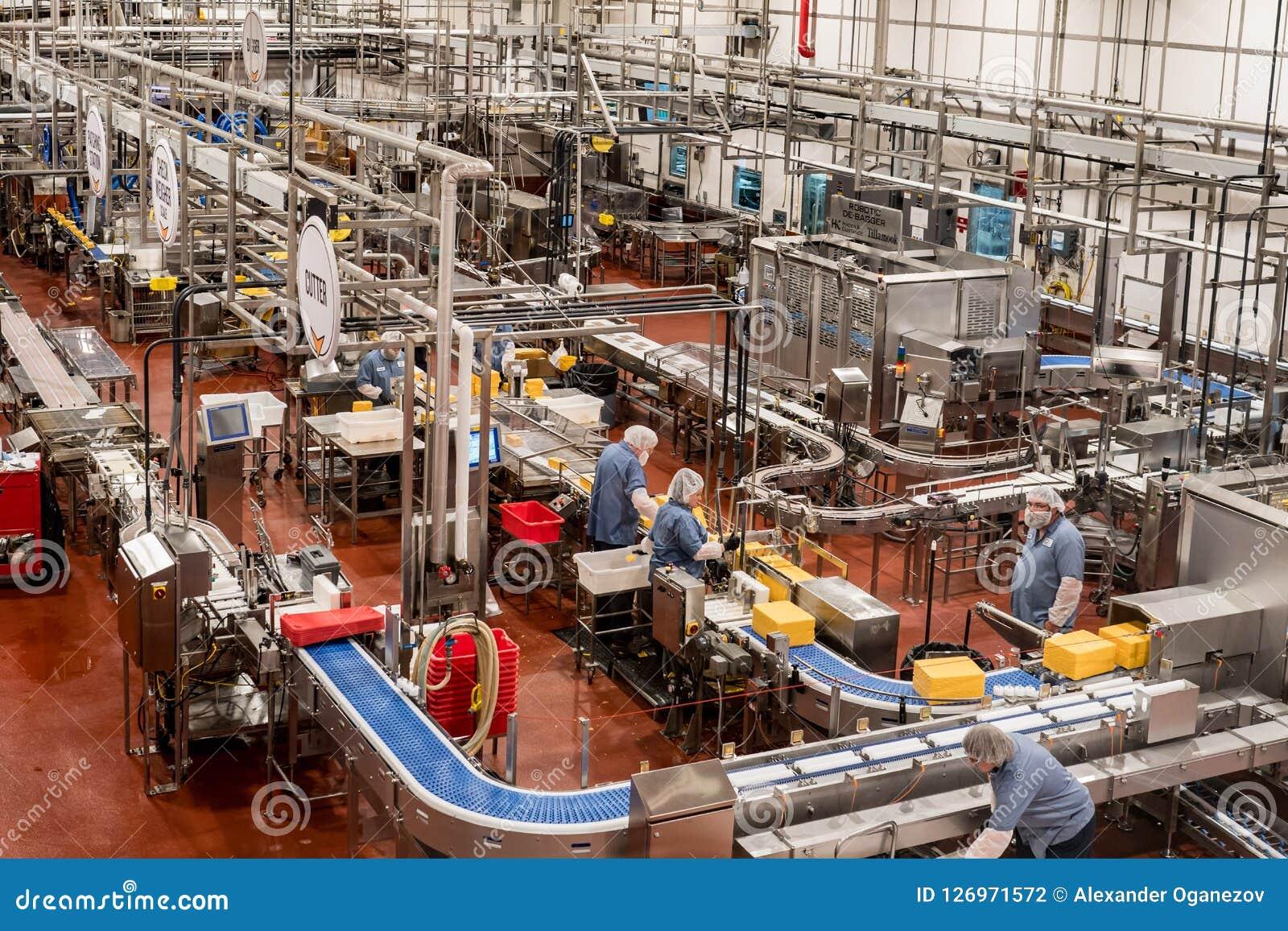 Tillamookzuivelindustrie & kaasfabriek