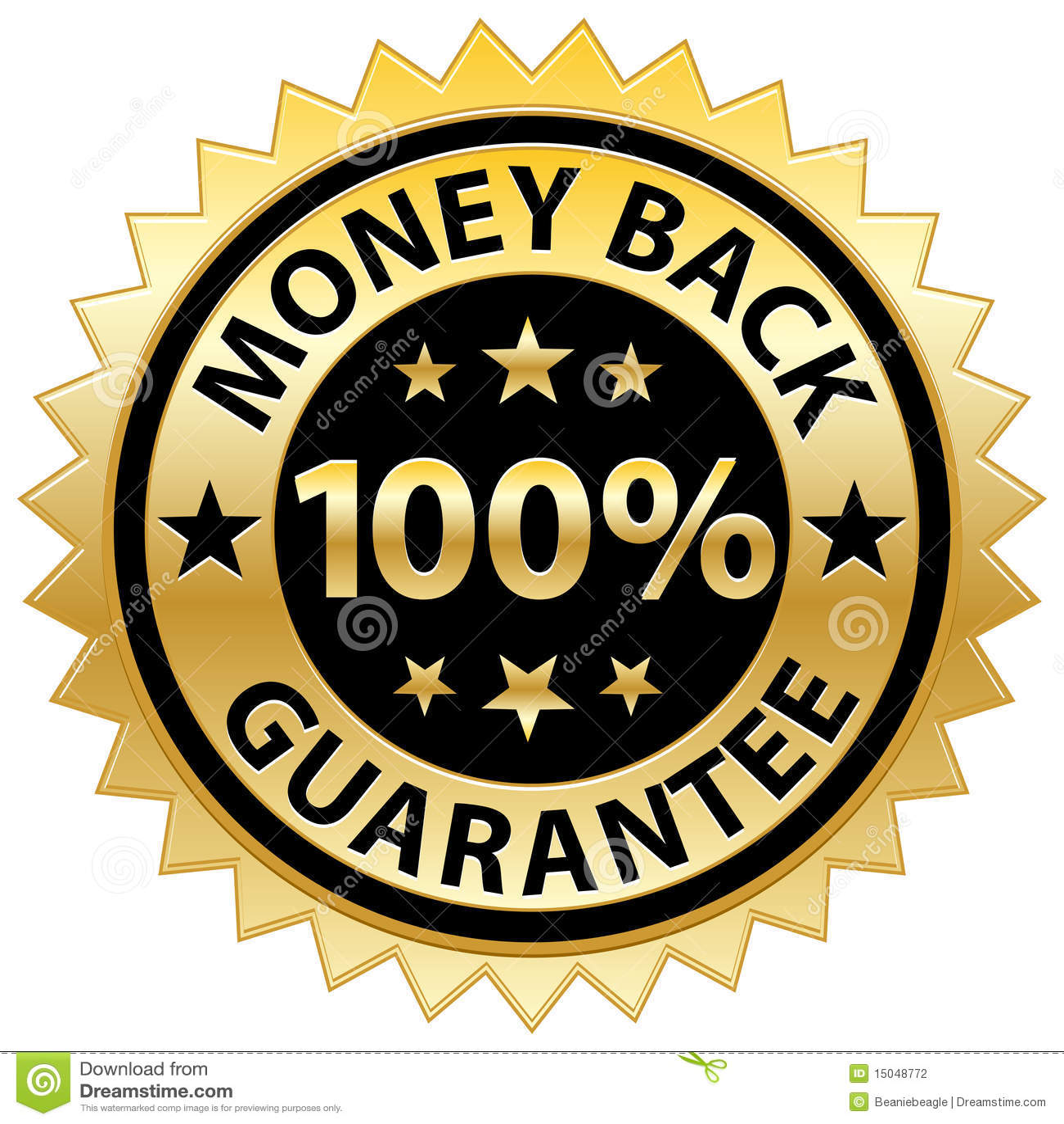 Tillbaka guaranteepengar