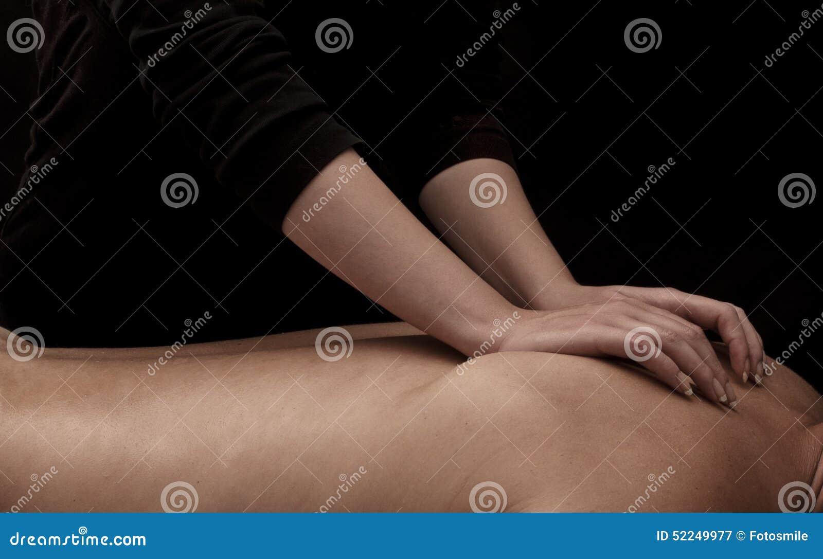Tillbaka massage