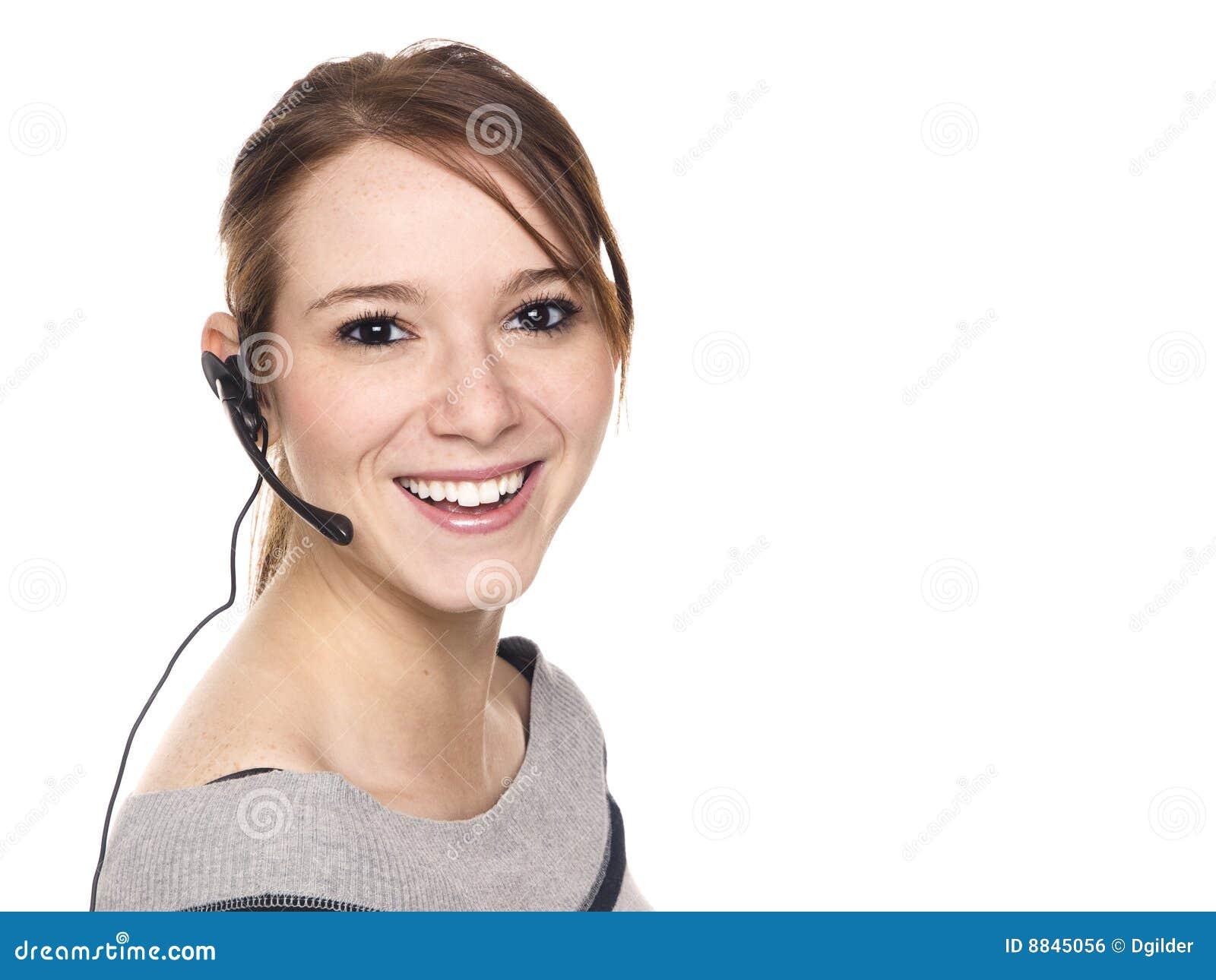 Tillfällig kvinna - receptionist