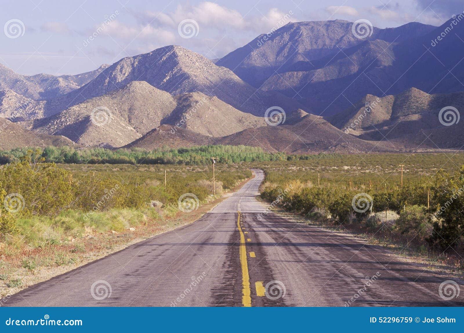 Tillstånd för park för anzaborregoKalifornien öken