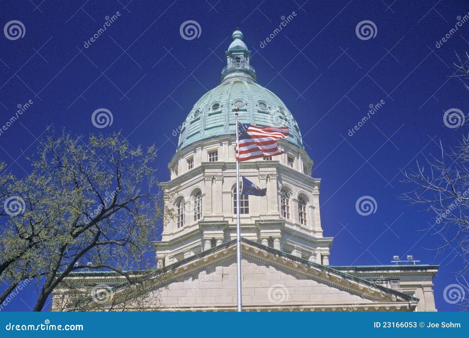 TillståndsCapitol av Kansas