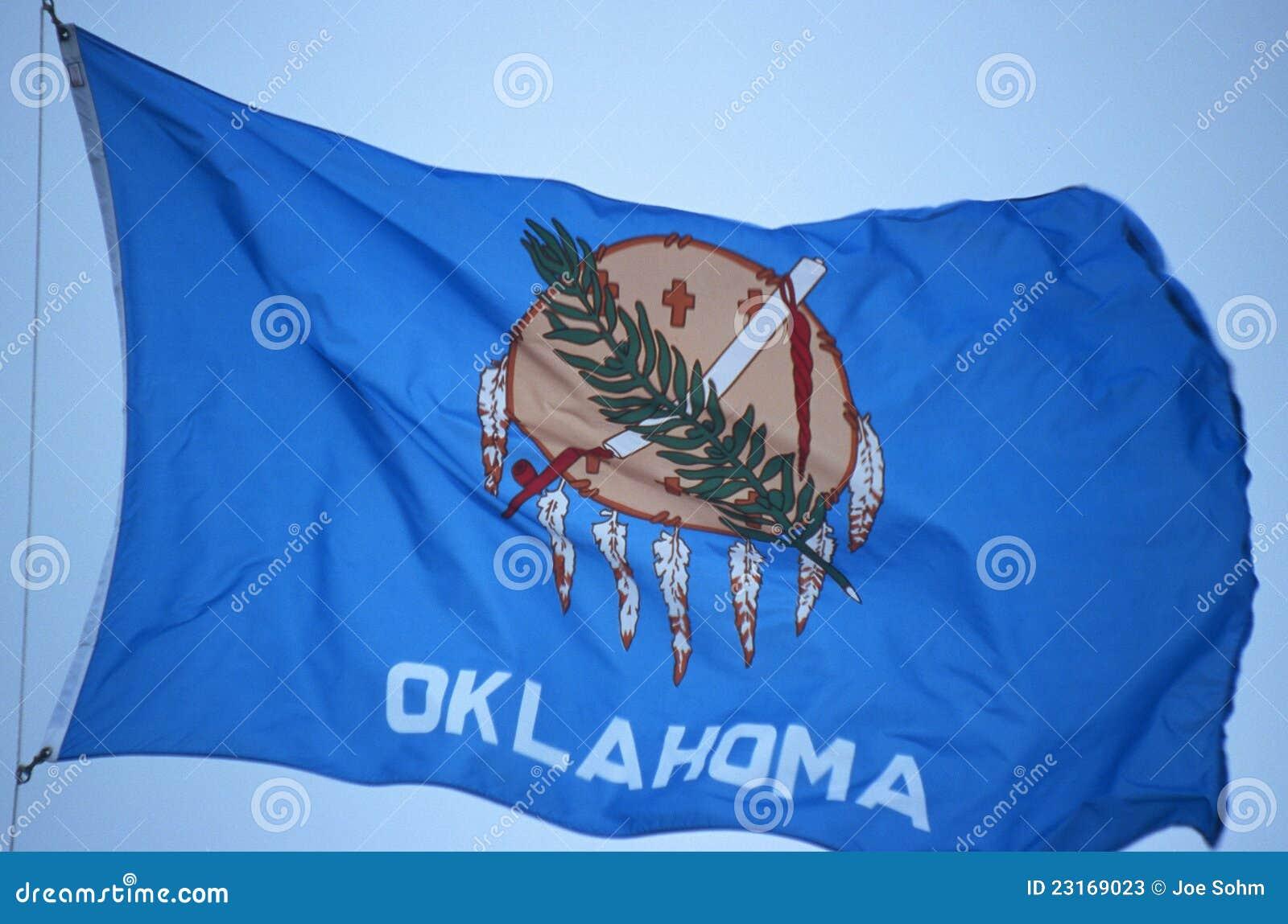 Tillståndsflagga av Oklahoma