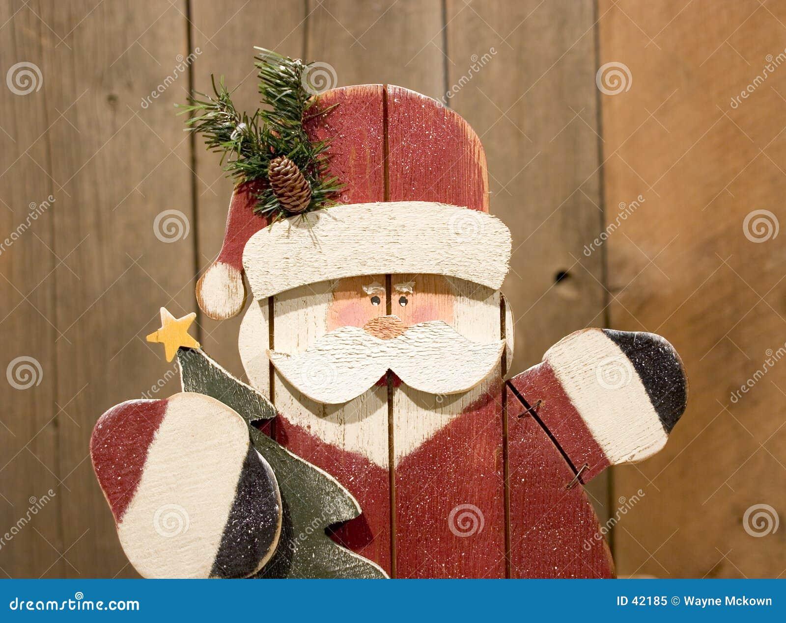 Tillverkad hand santa